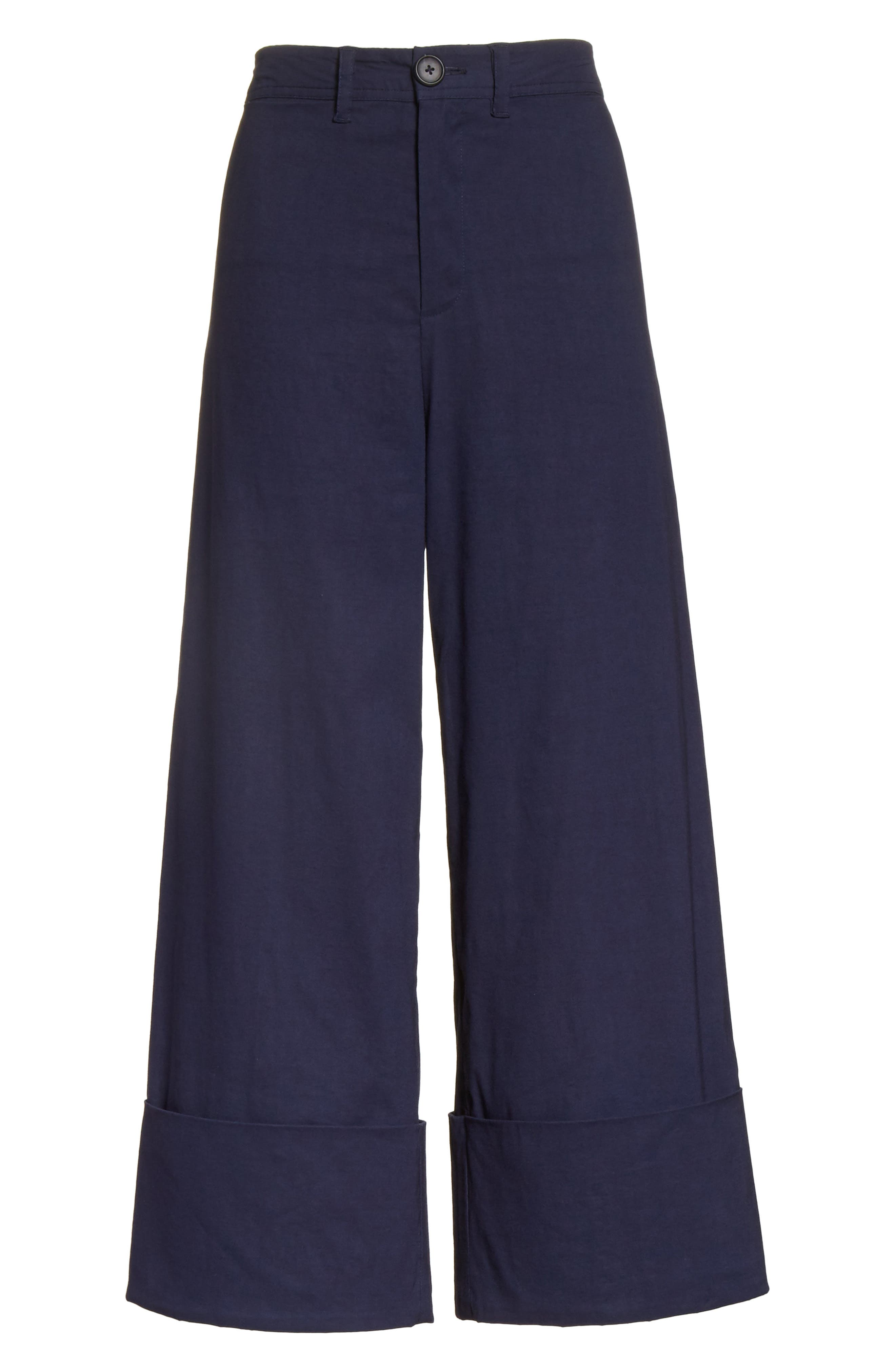 Alternate Image 8  - Sea Cuffed Wide Leg Pants