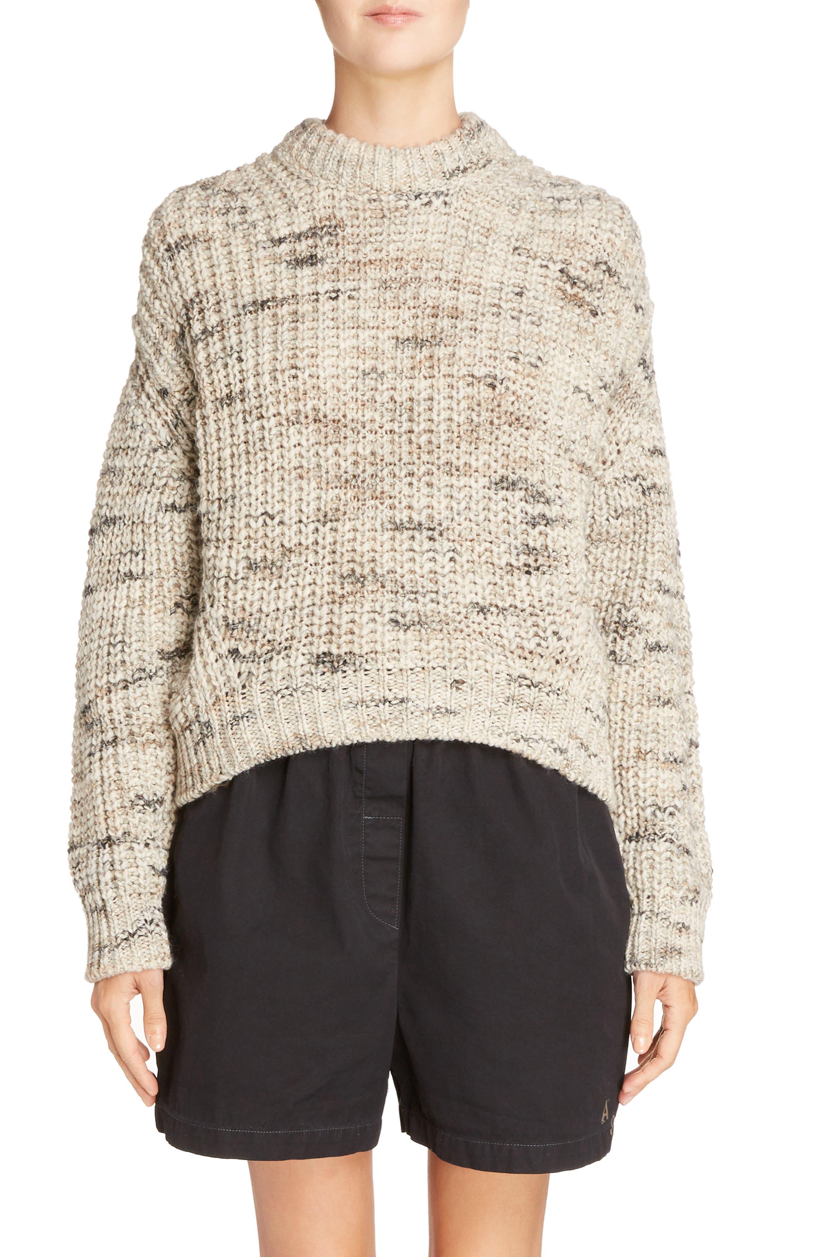 Zora Multi Sweater,                             Main thumbnail 1, color,                             White Mix