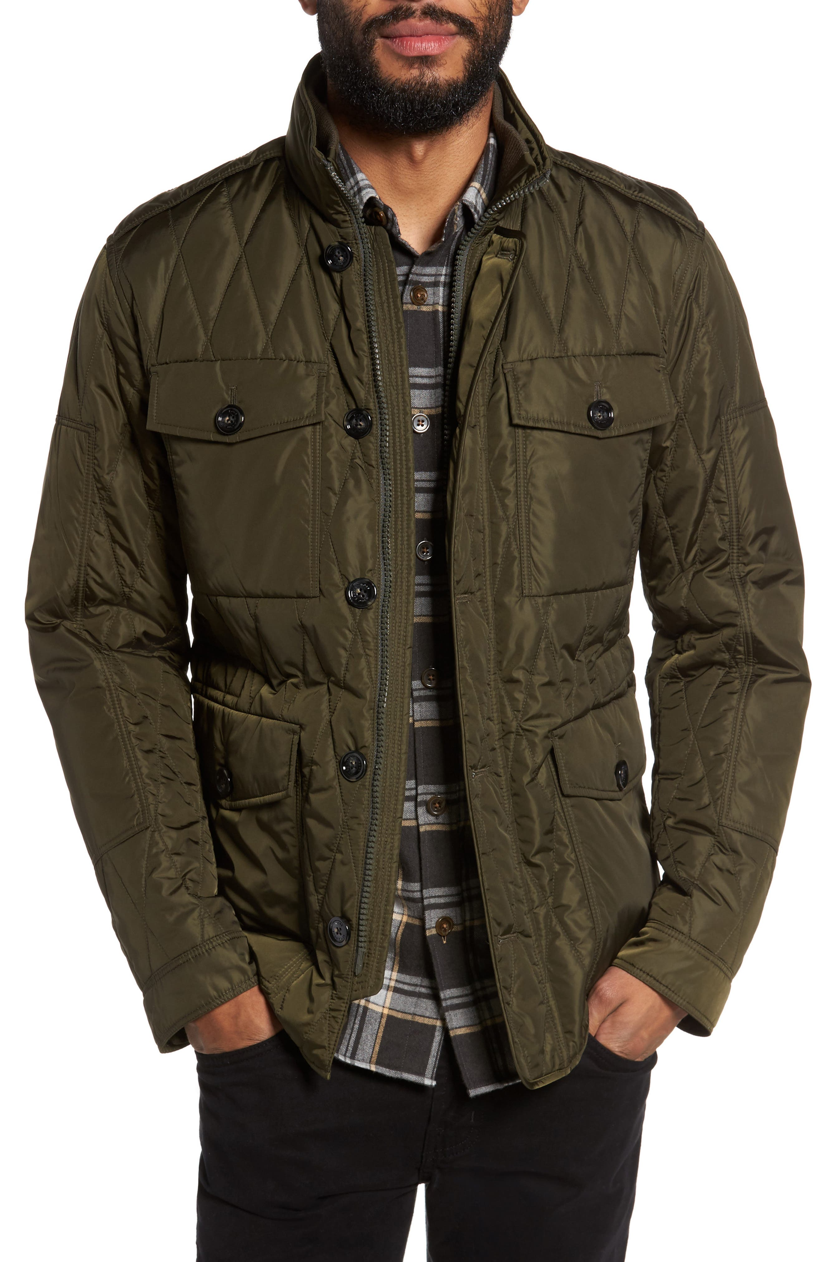 BOSS Cloud Quilted Field Jacket