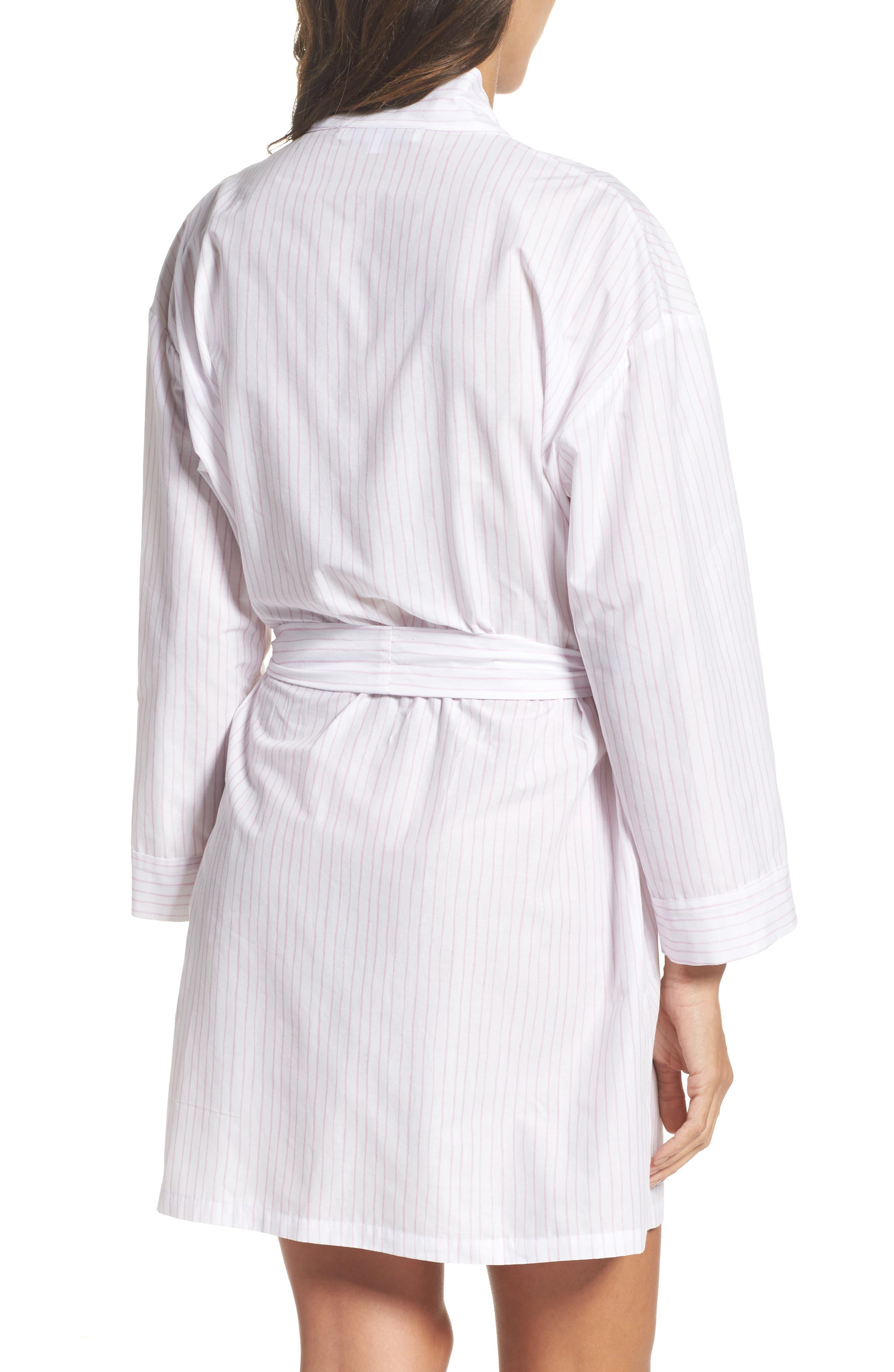 Stripe Robe,                             Alternate thumbnail 2, color,                             Pink Stripe