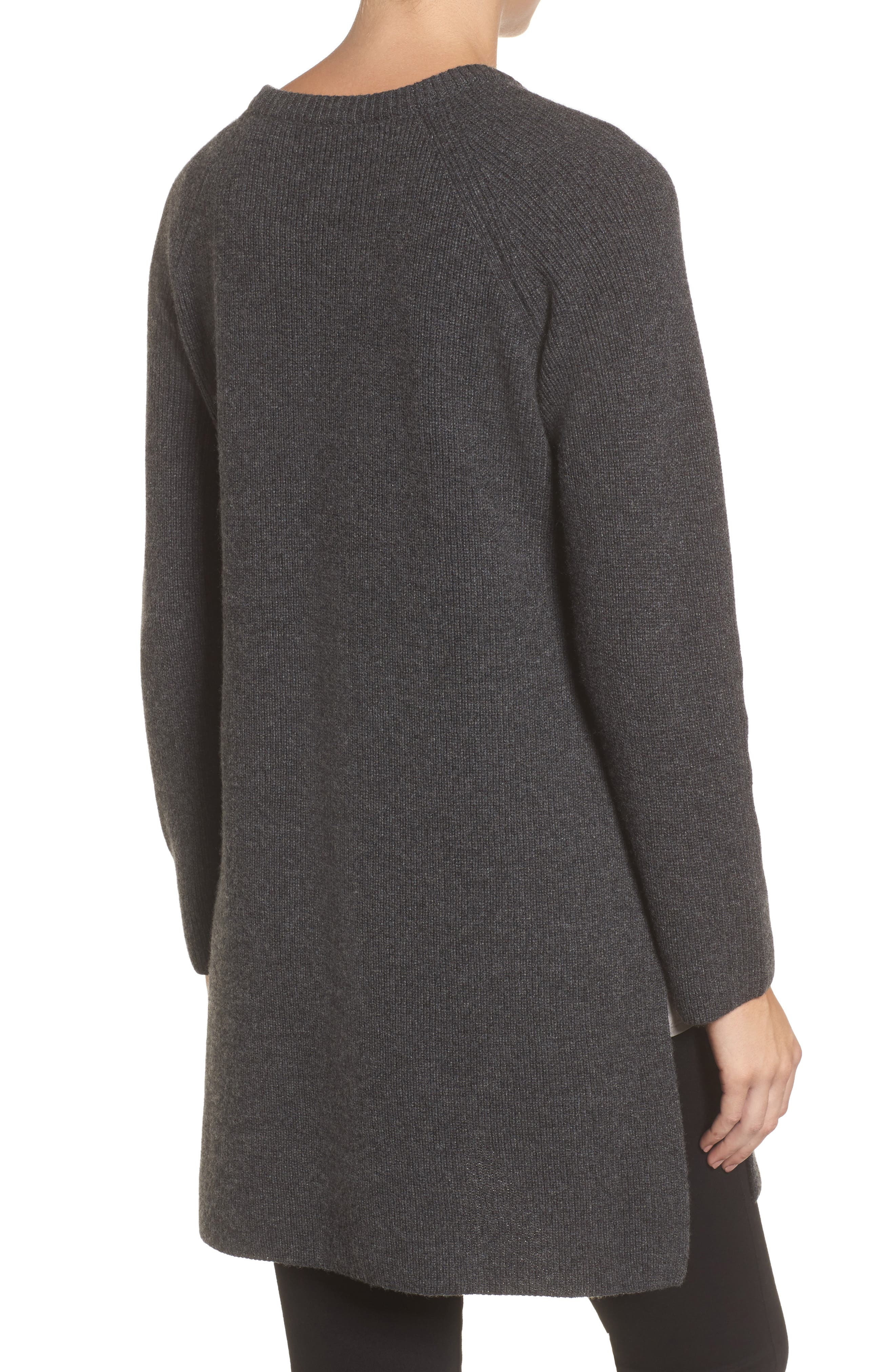 Alternate Image 2  - Eileen Fisher Cashmere Tunic Sweater