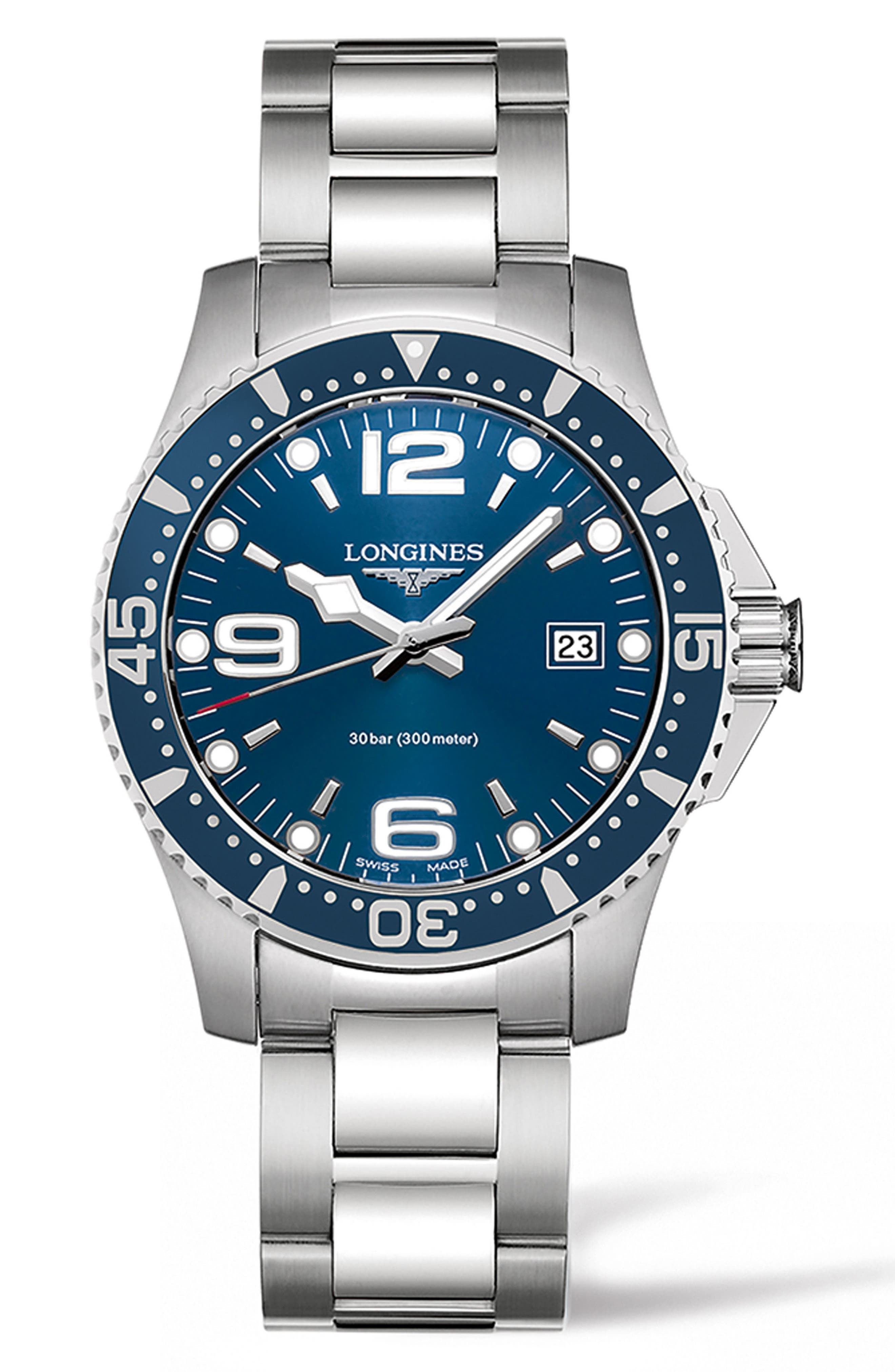 Longines HydroConquest Bracelet Watch, 41mm