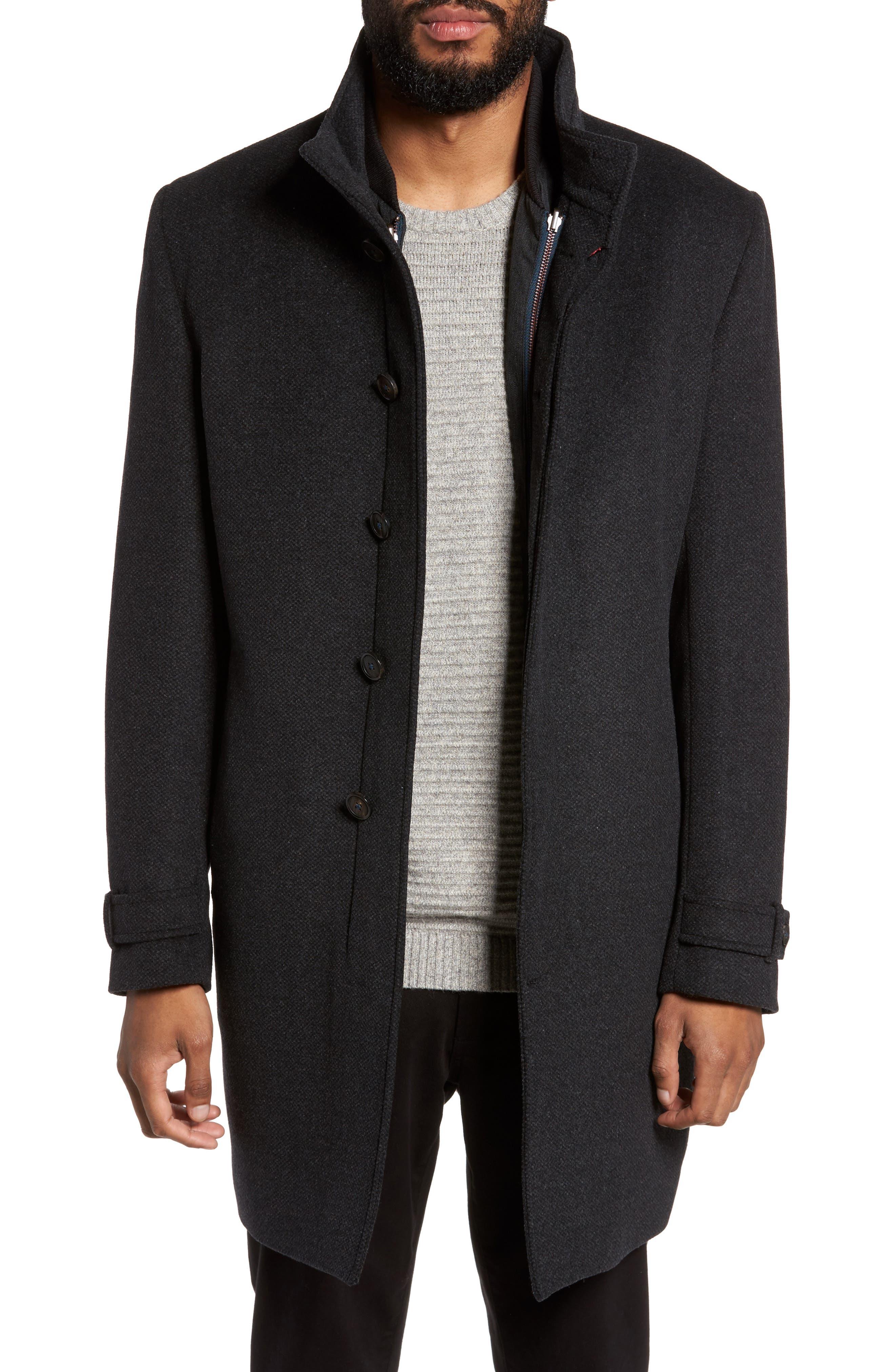 Main Image - Ted Baker London Endurance Overcoat