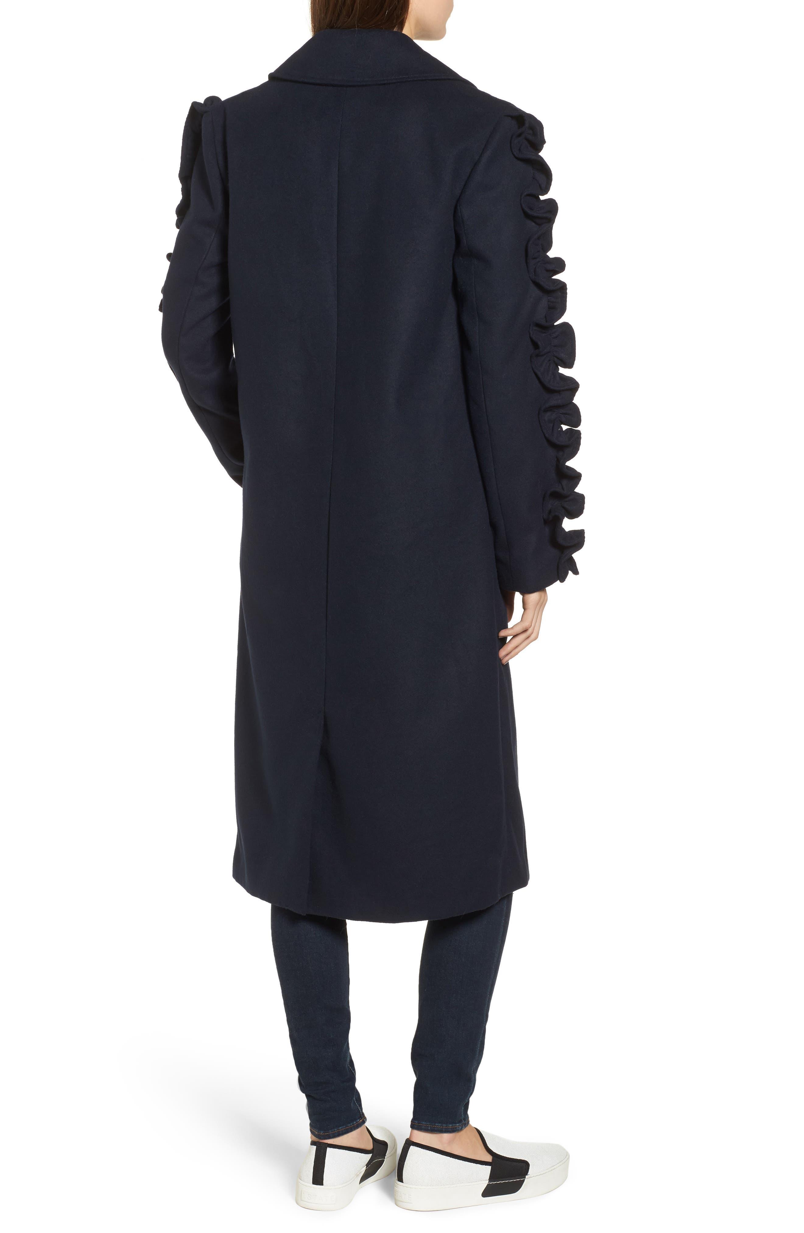 Alternate Image 3  - The Fifth Label Narrative Ruffle Sleeve Coat