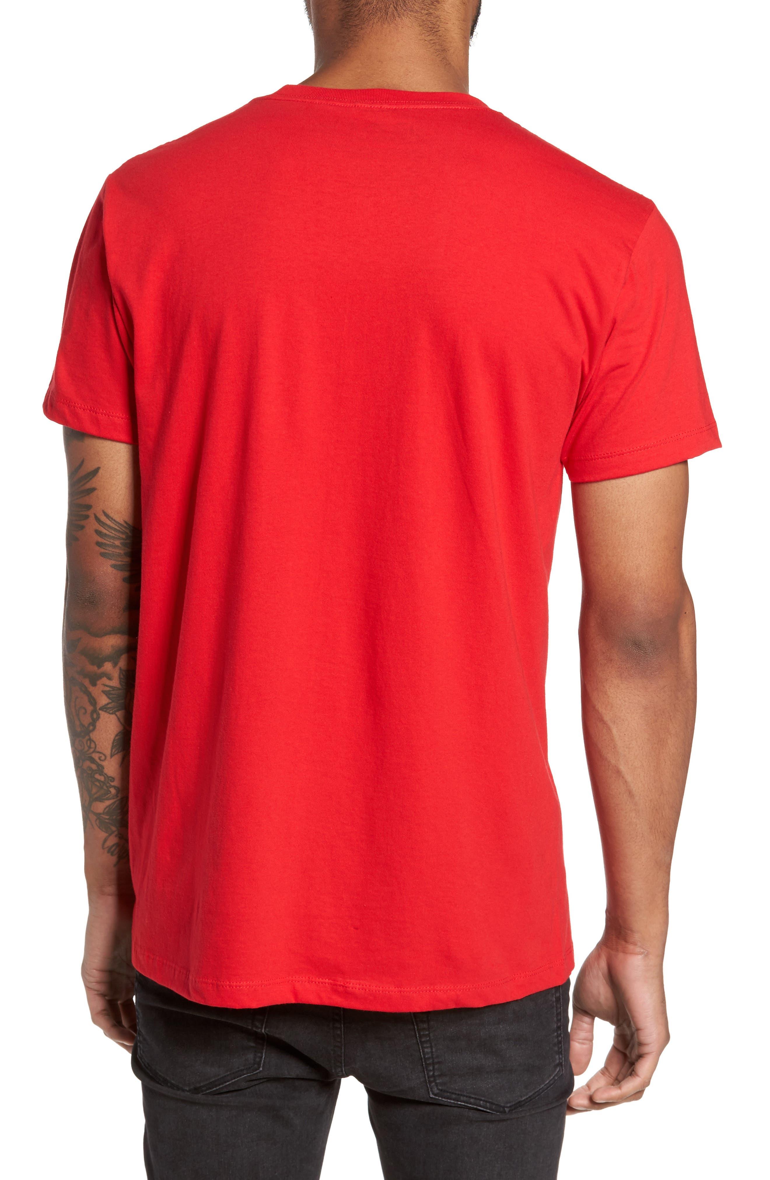 Stay Woke T-Shirt,                             Alternate thumbnail 2, color,                             Red Stay Woke