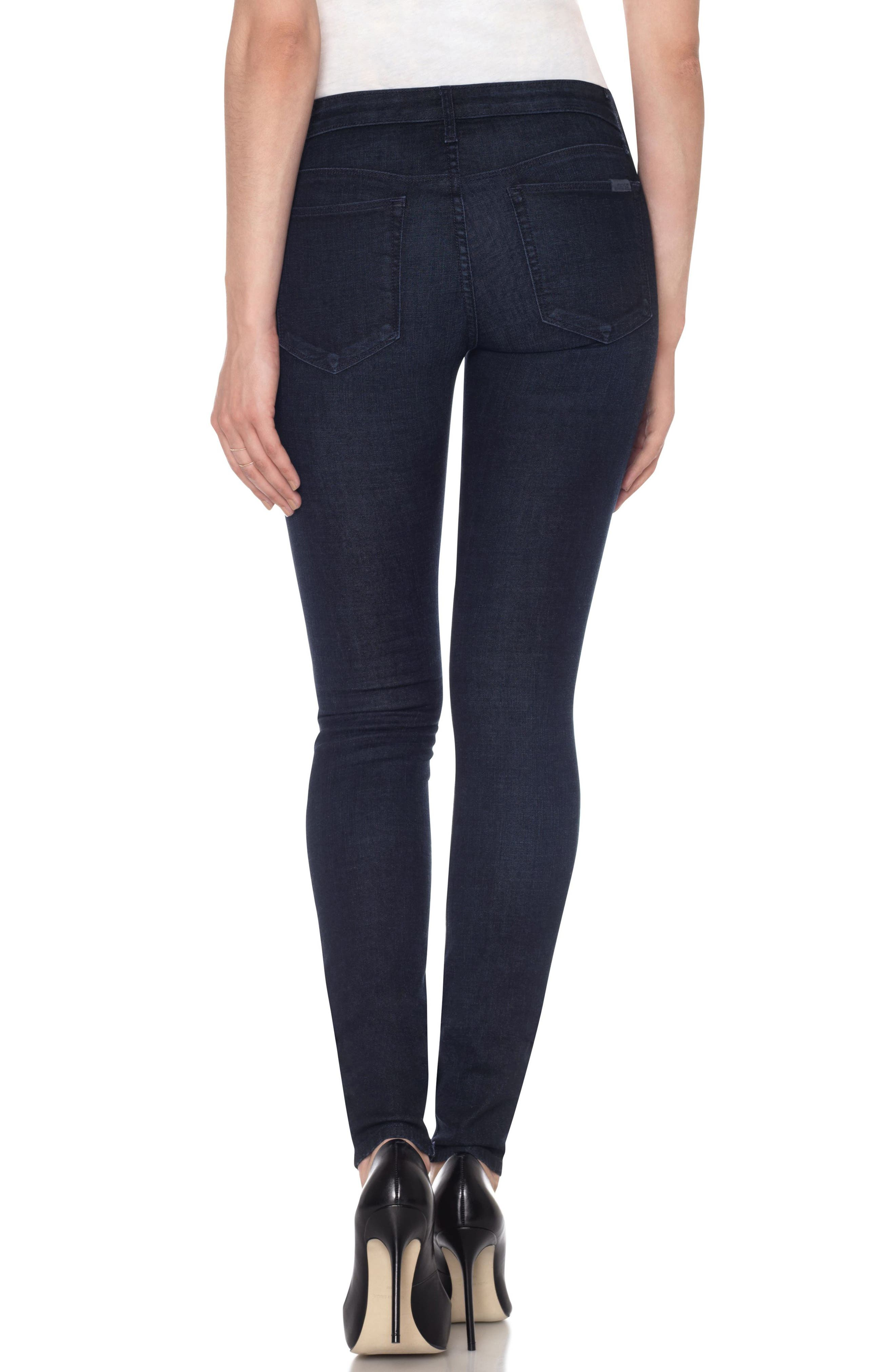 Flawless - Twiggy Skinny Jeans,                             Alternate thumbnail 2, color,                             Foley