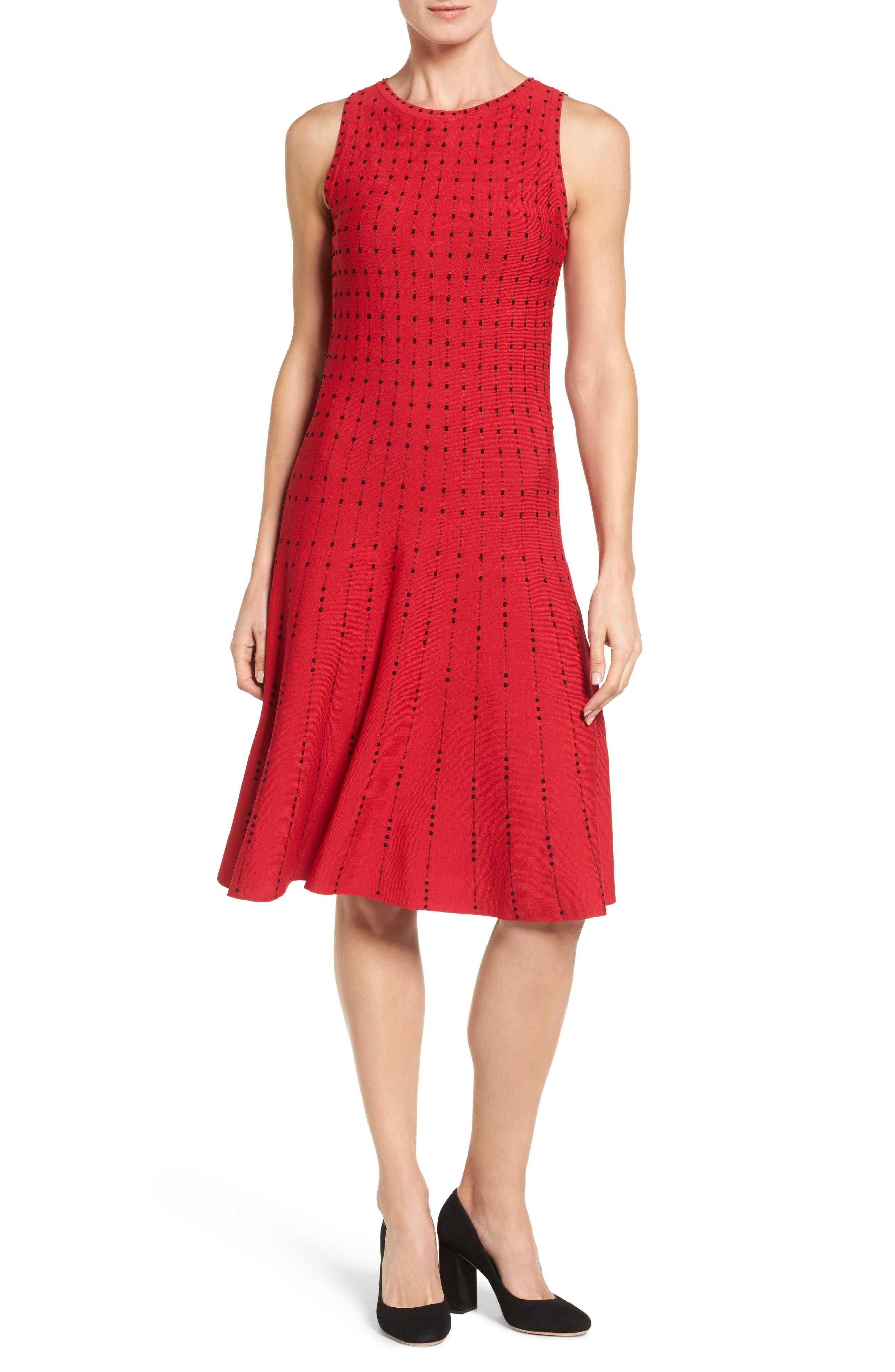 Alternate Image 1 Selected - NIC+ZOE Iceland Twirl Dress (Regular & Petite)