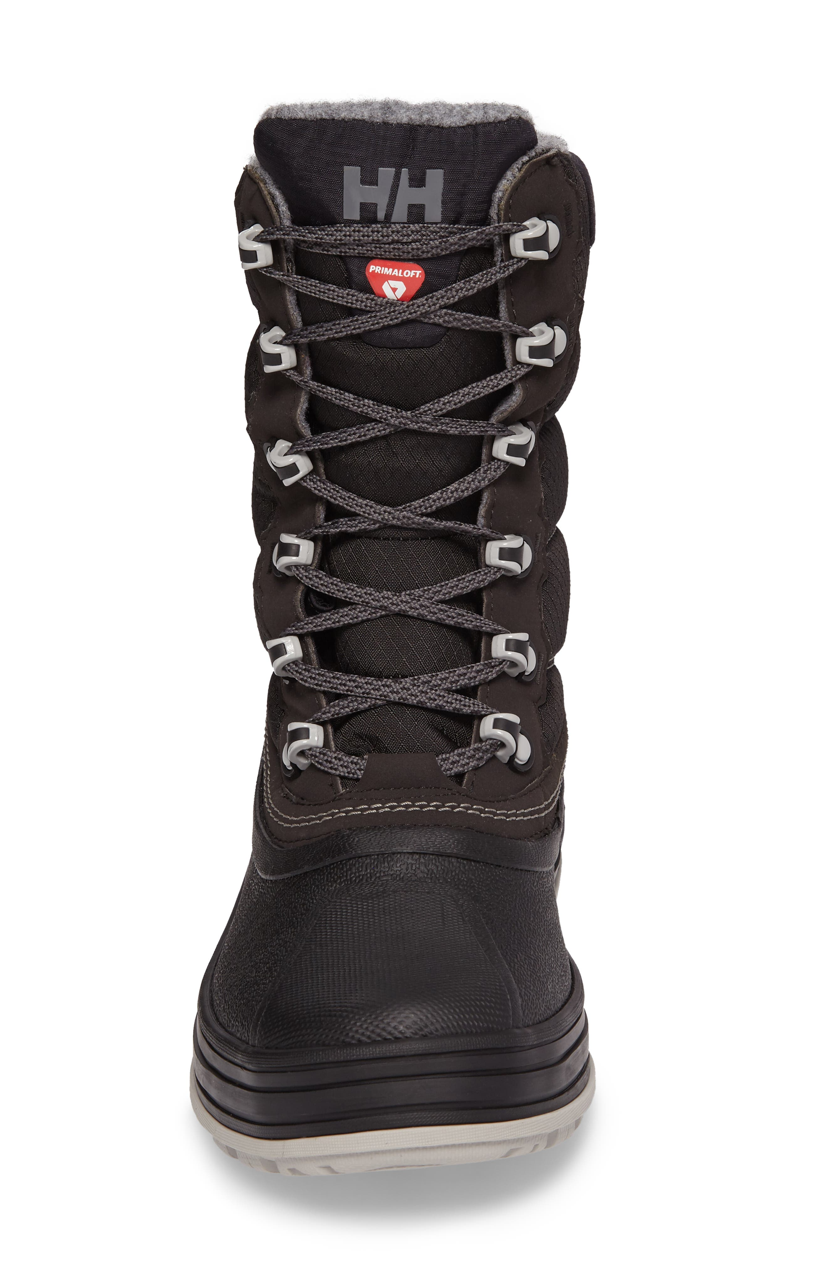Tundra CWB Snow Boot,                             Alternate thumbnail 4, color,                             Jet Black