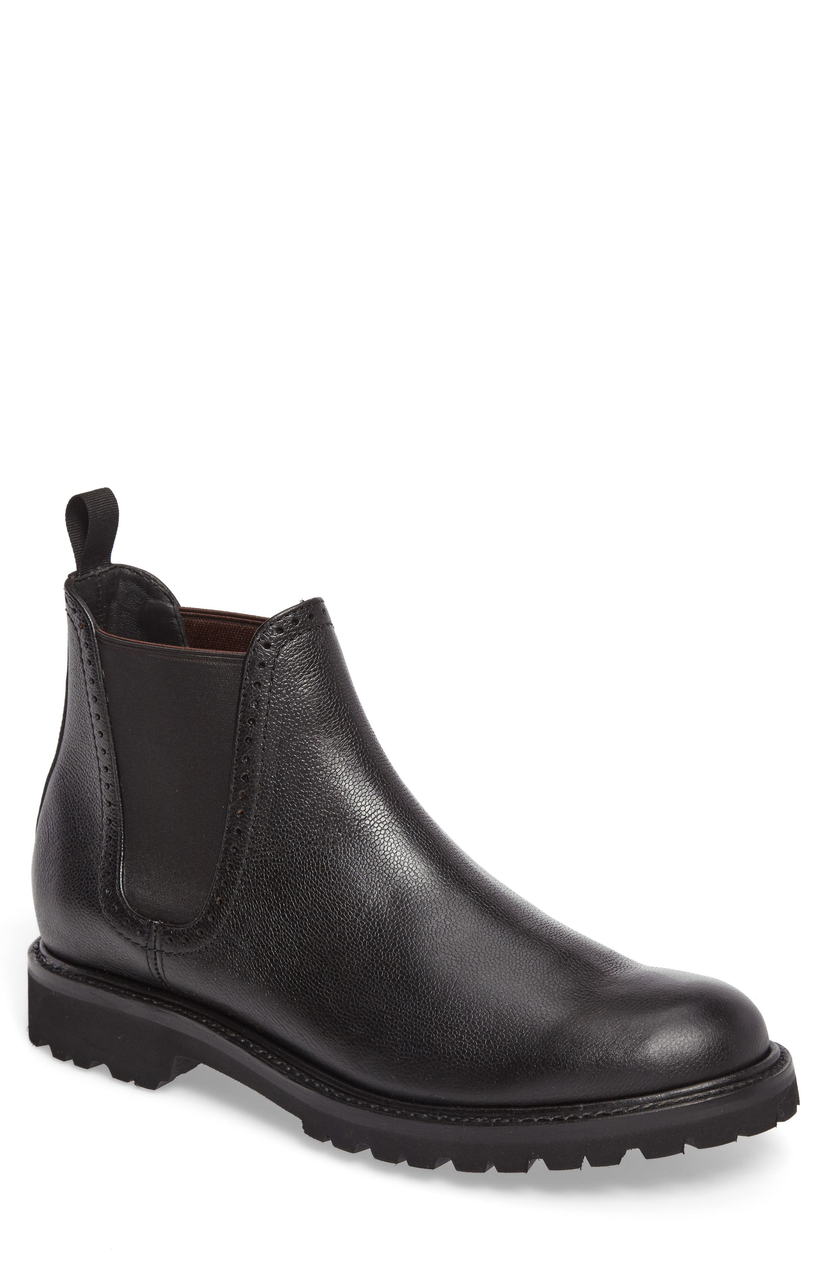 Cromwell Chelsea Boot,                             Main thumbnail 1, color,                             Black