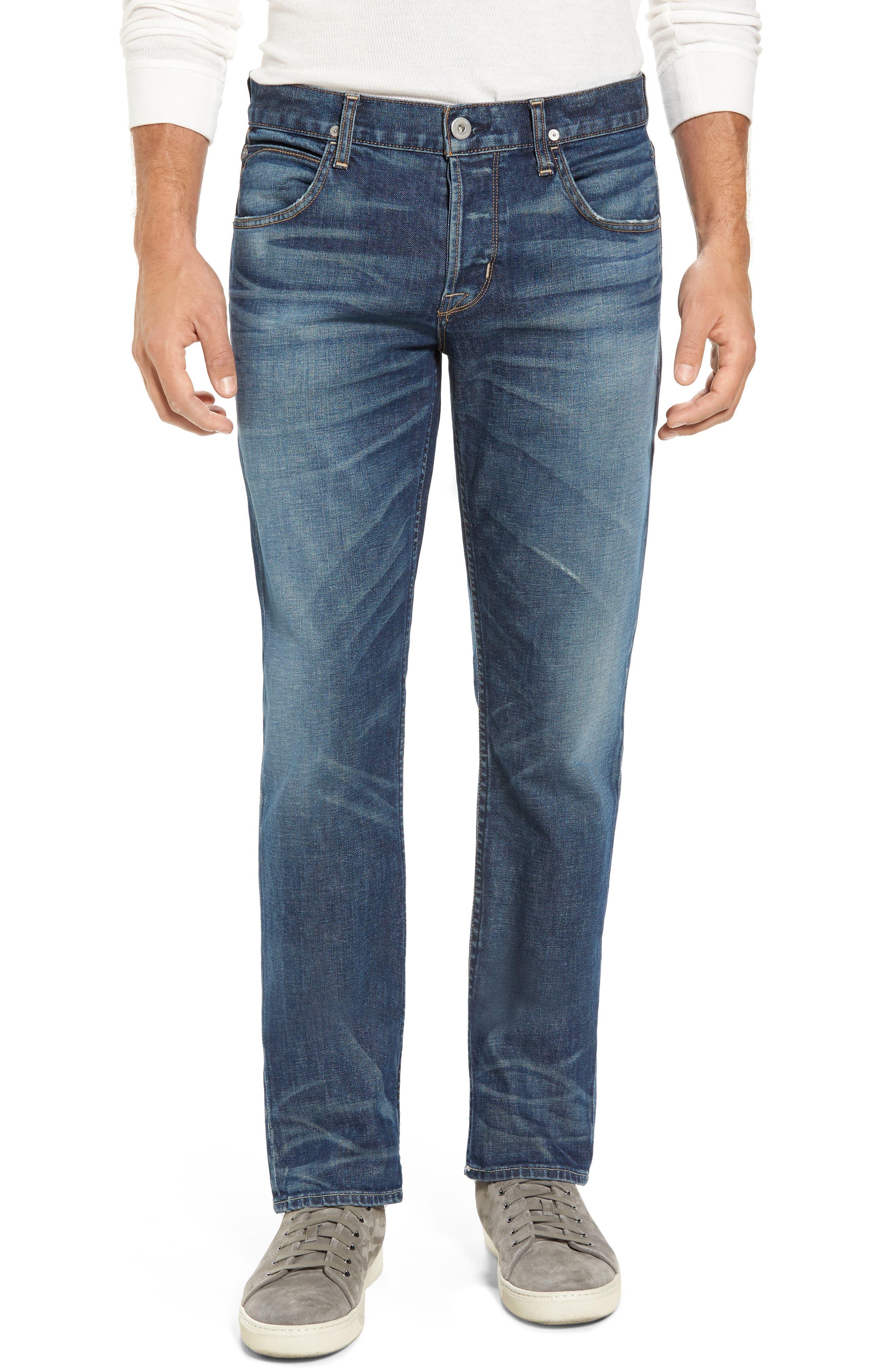 Alternate Image 1 Selected - Hudson Jeans Blake Slim Fit Jeans (Scribe)
