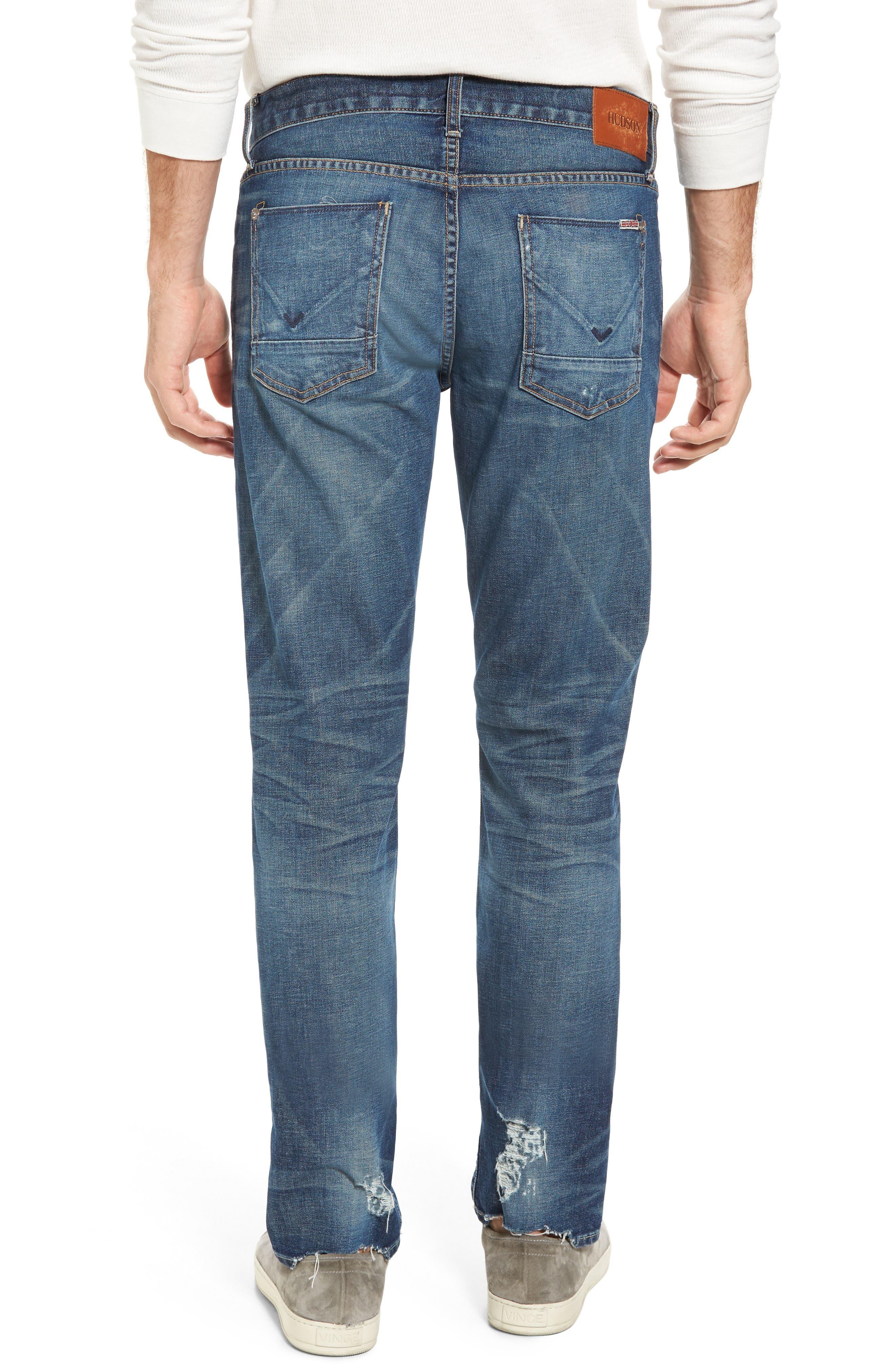 Alternate Image 2  - Hudson Jeans Blake Slim Fit Jeans (Scribe)