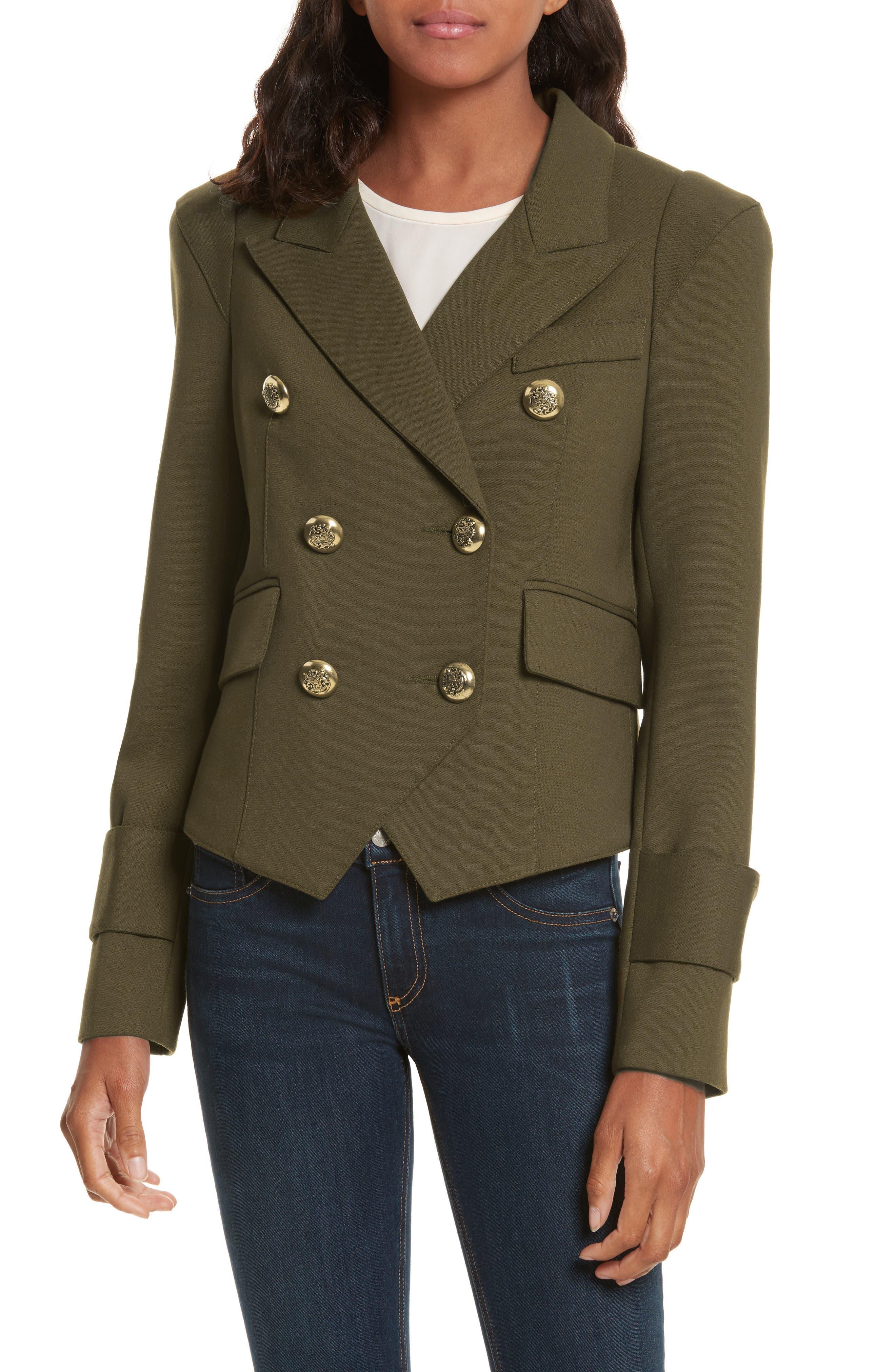 Pagoda Cadet Jacket,                         Main,                         color, Army