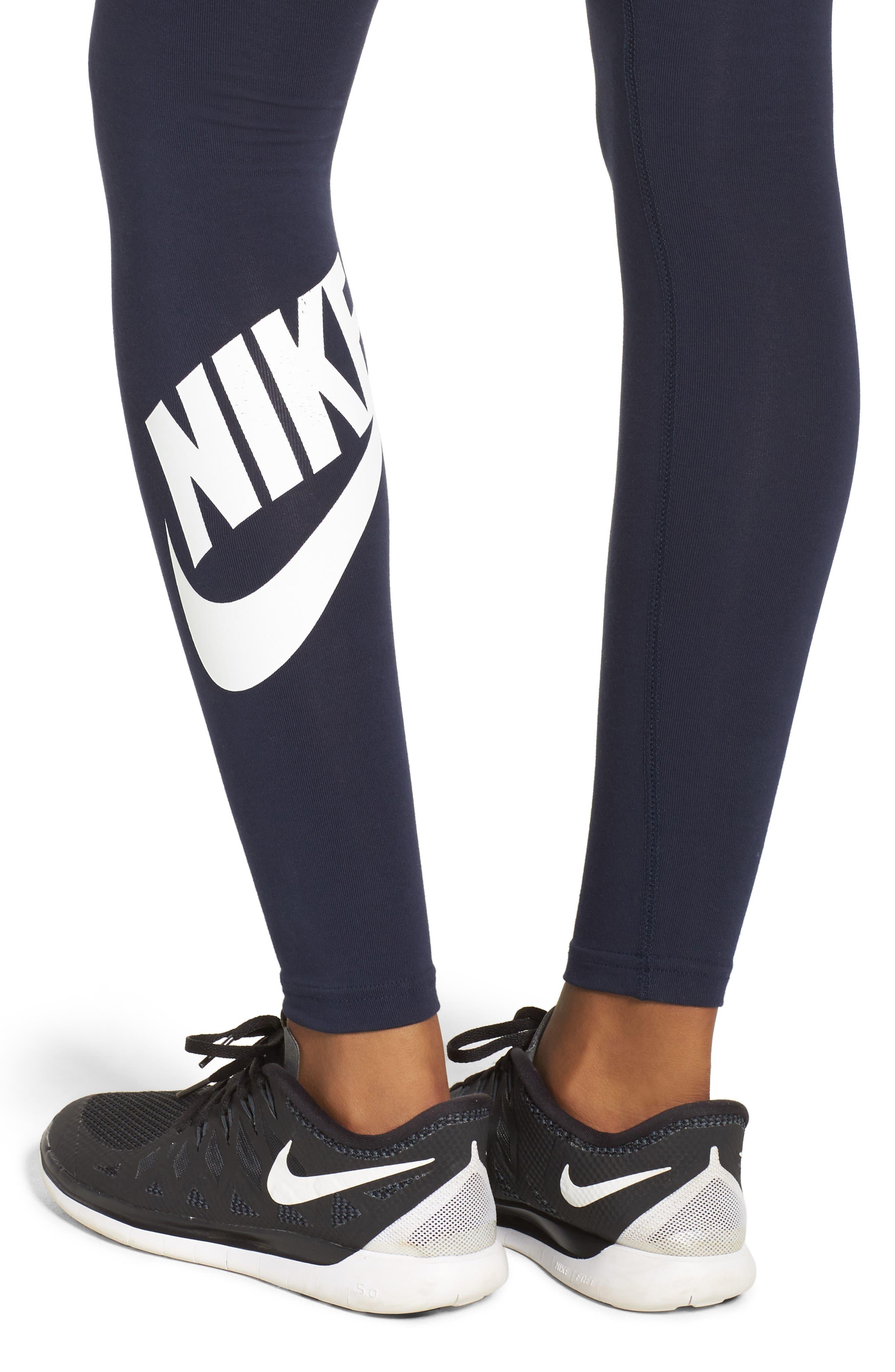 Alternate Image 4  - Nike Leg-a-See High Waist Leggings