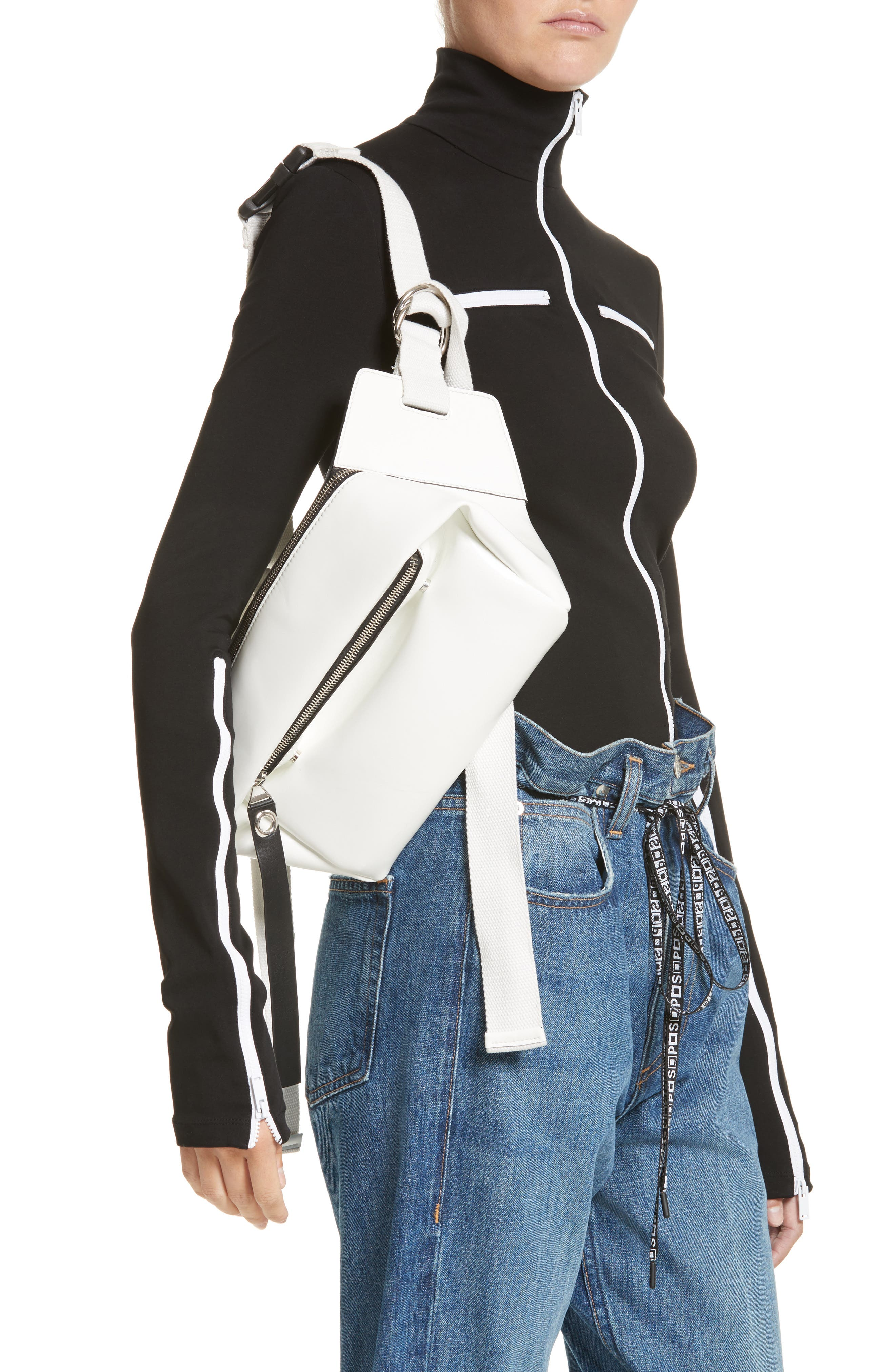 Alternate Image 2  - Proenza Schouler PSWL Faux Leather Fanny Pack