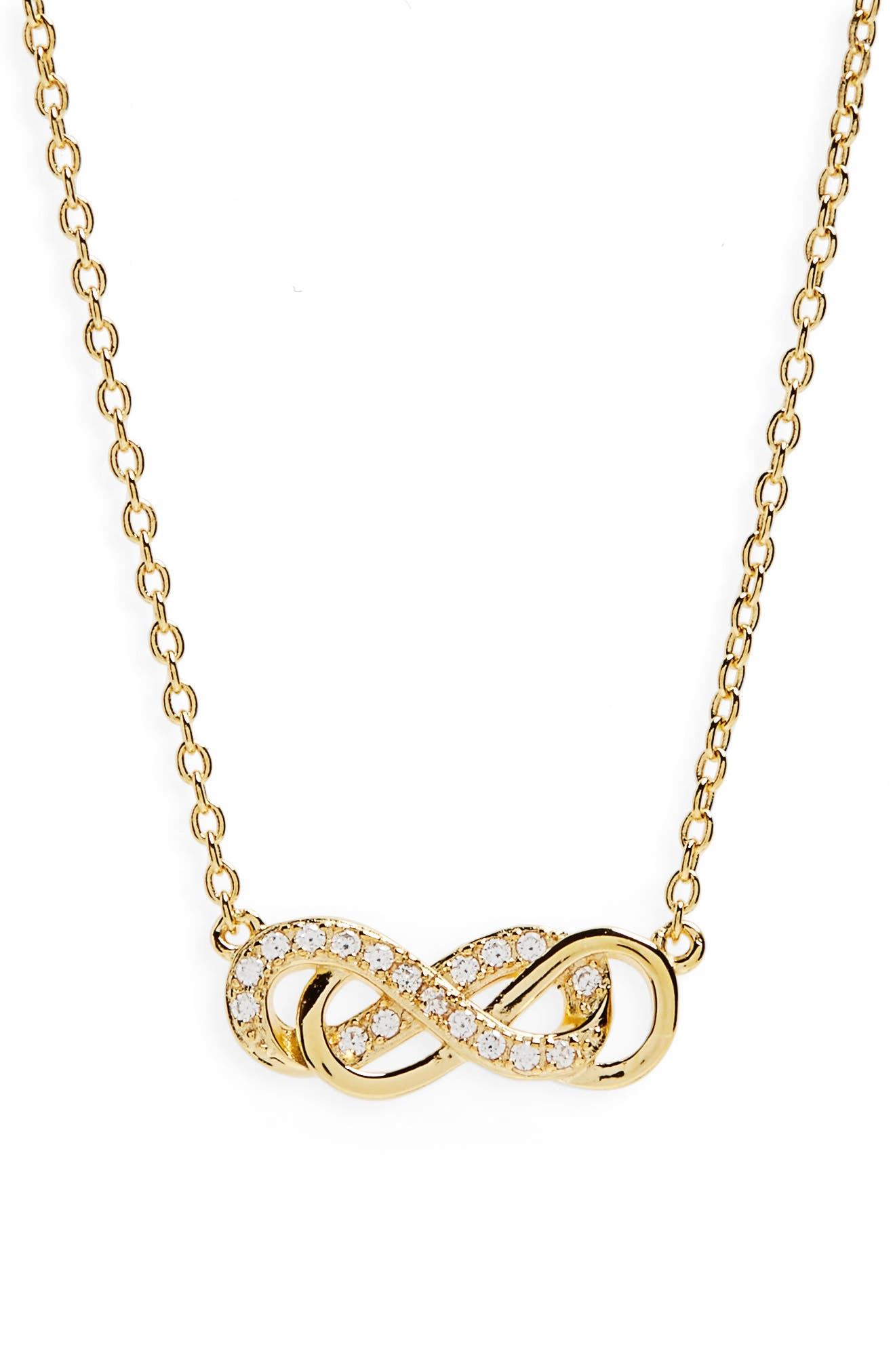 Nordstrom Double Infinity Pendant Necklace