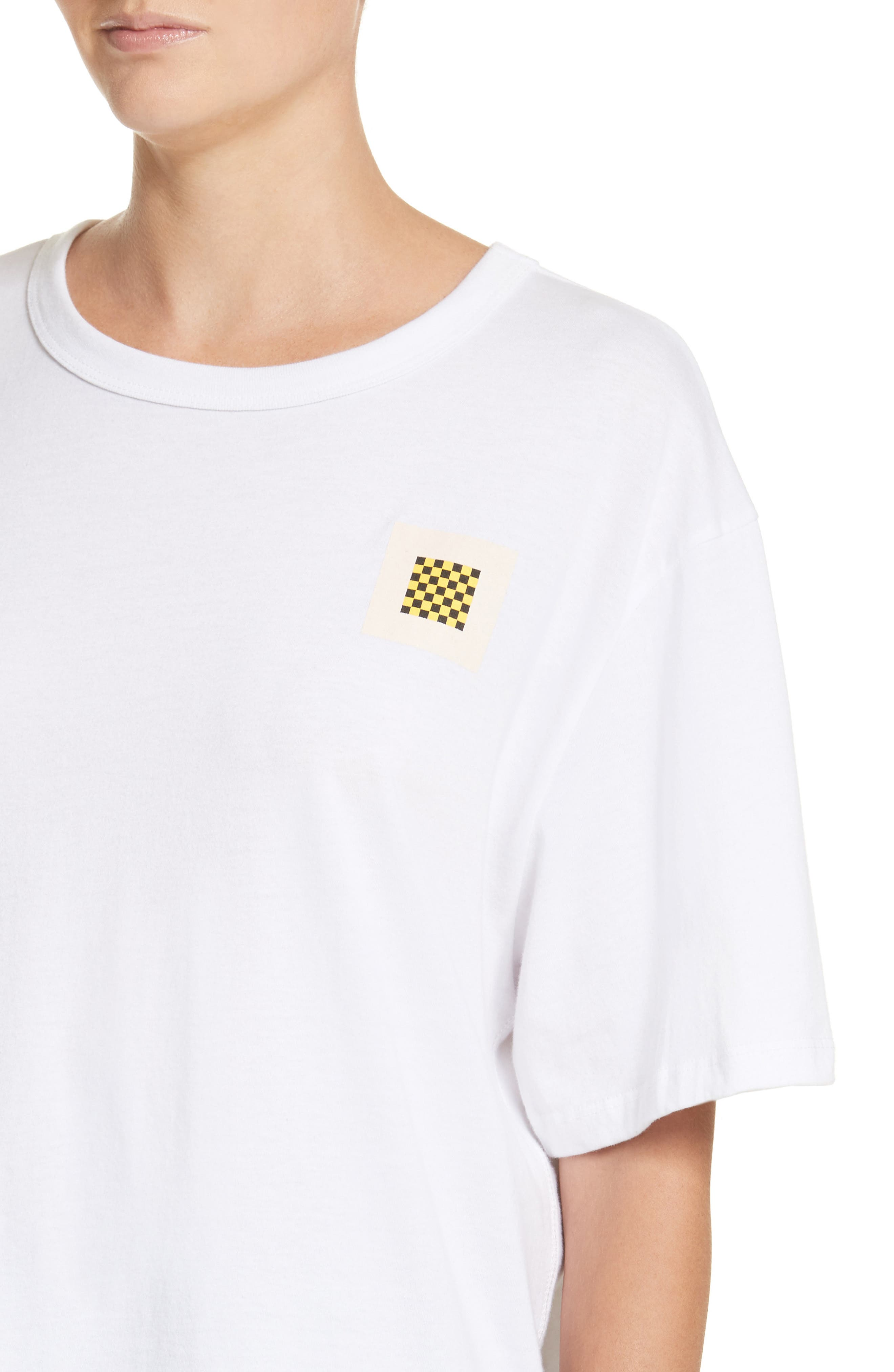 PSWL Graphic Jersey Tee,                             Alternate thumbnail 5, color,                             White