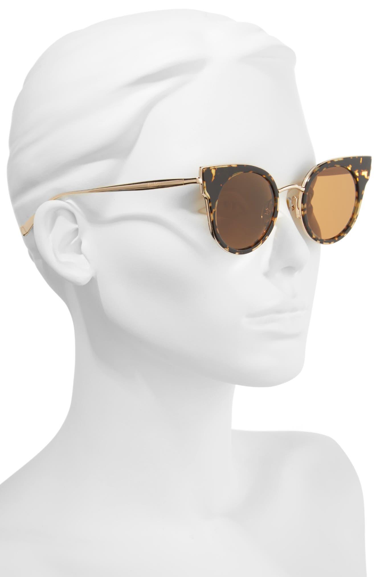 Alternate Image 2  - Max Mara Ilde 46mm Cat Eye Sunglasses