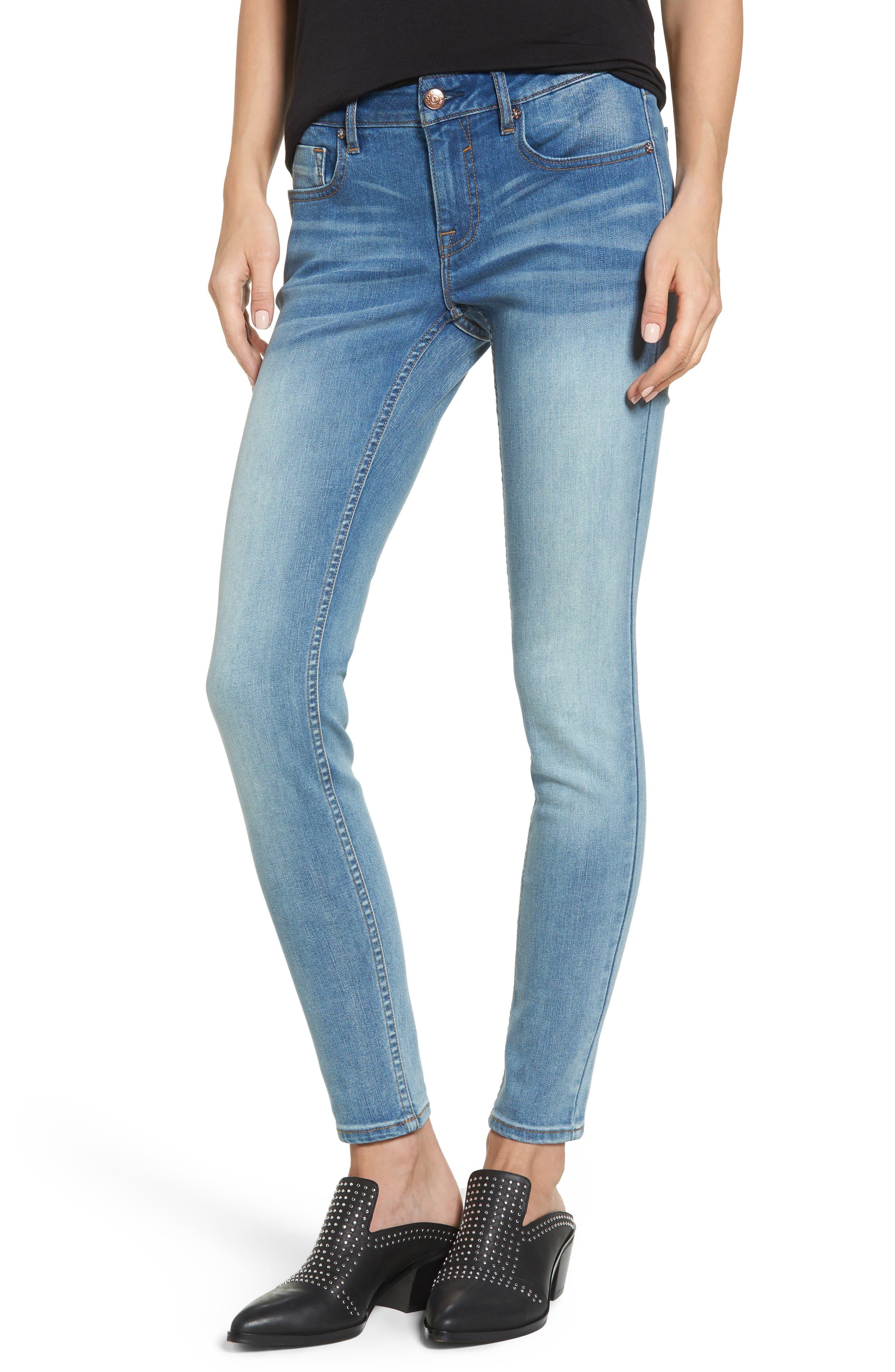Vigoss Clean Ankle Skinny Jeans