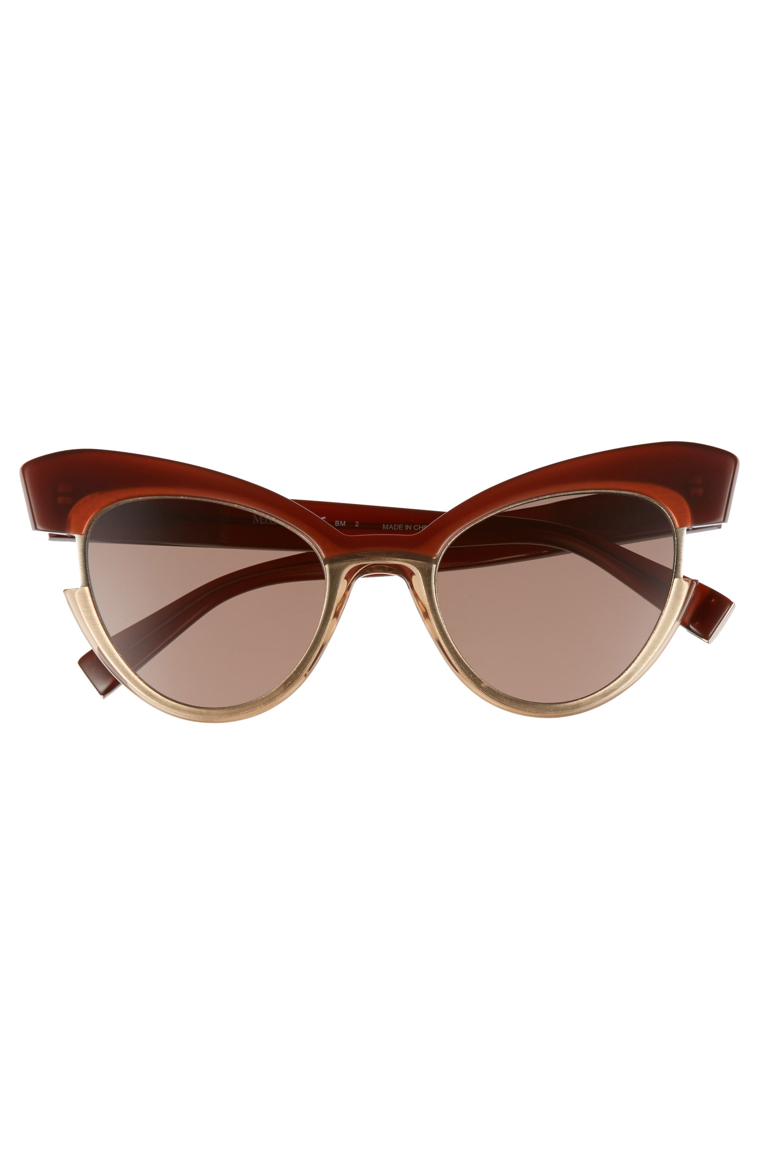 Alternate Image 3  - Max Mara 49mm Gradient Lens Cat Eye Sunglasses