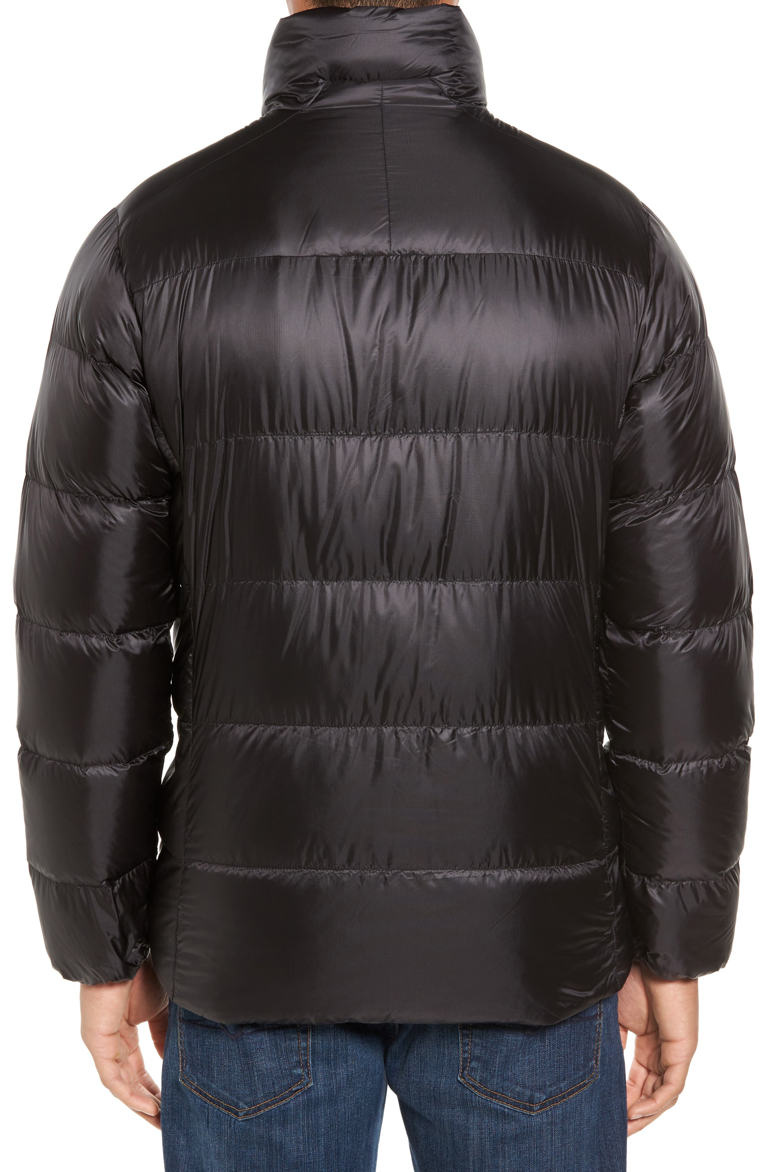 Fitz Roy Water Repellent 800-Fill-Power Down Parka,                             Alternate thumbnail 2, color,                             Black