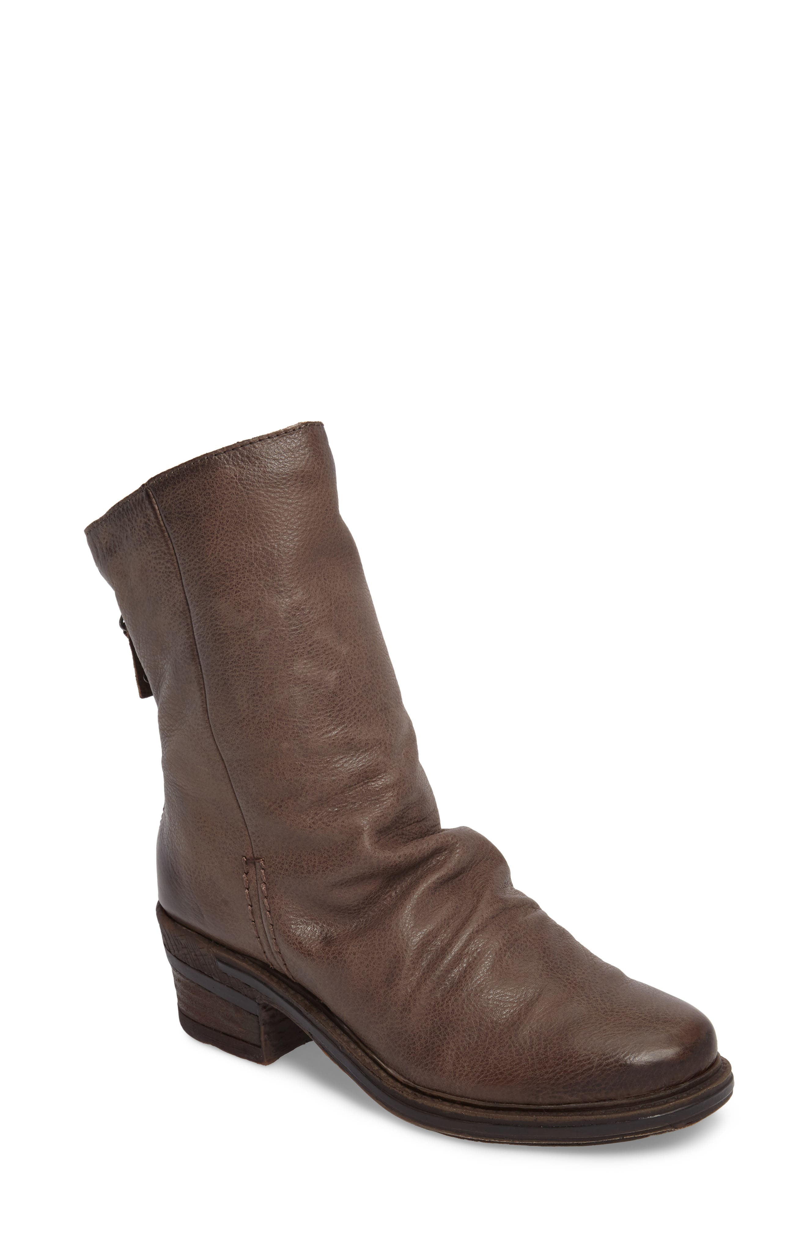 Fernweh Slouchy Bootie,                         Main,                         color, Mint Leather