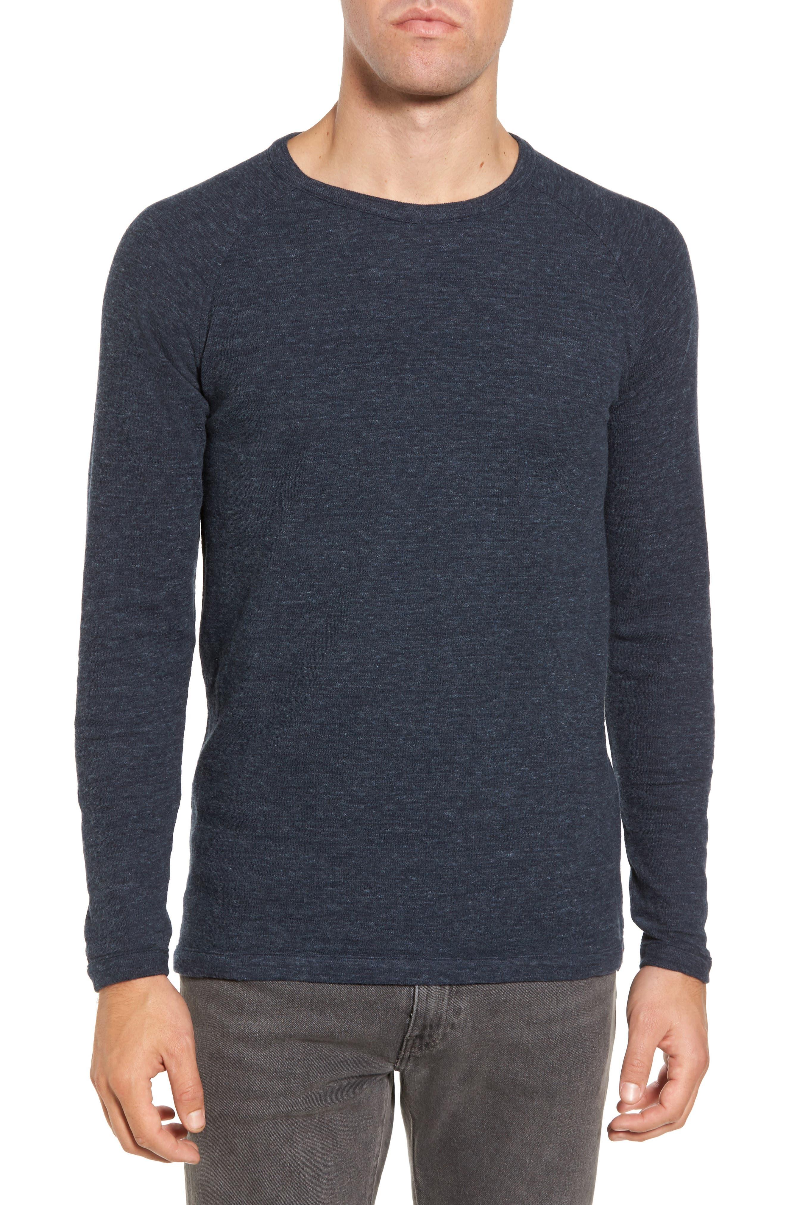 Jensen Double Cloth T-Shirt,                         Main,                         color, Navy