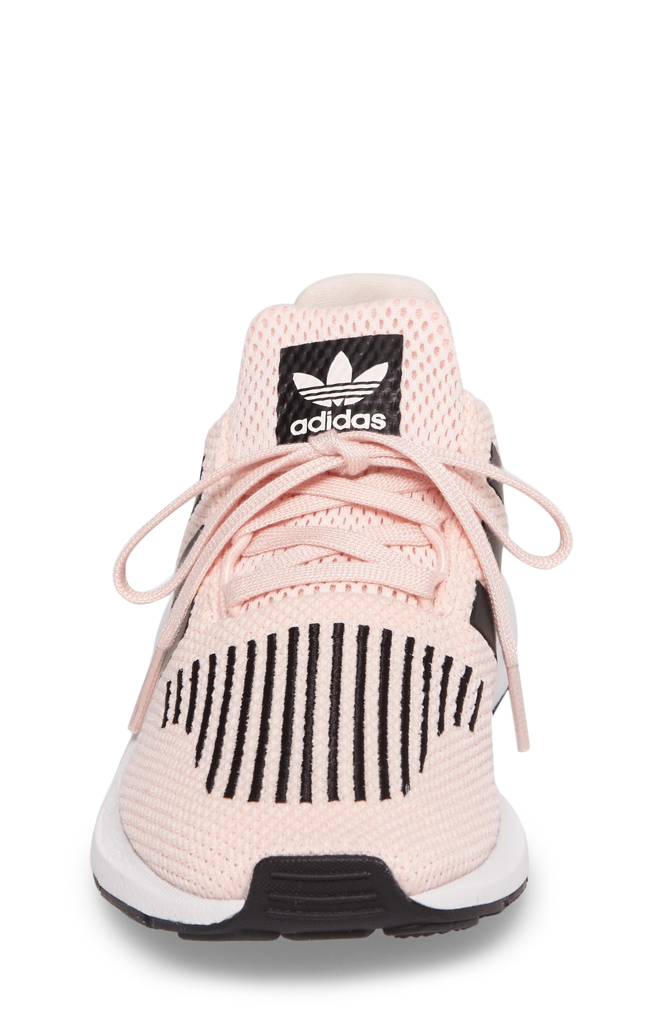 Swift Run C Sneaker,                             Alternate thumbnail 4, color,                             Icey Pink/ Core Black