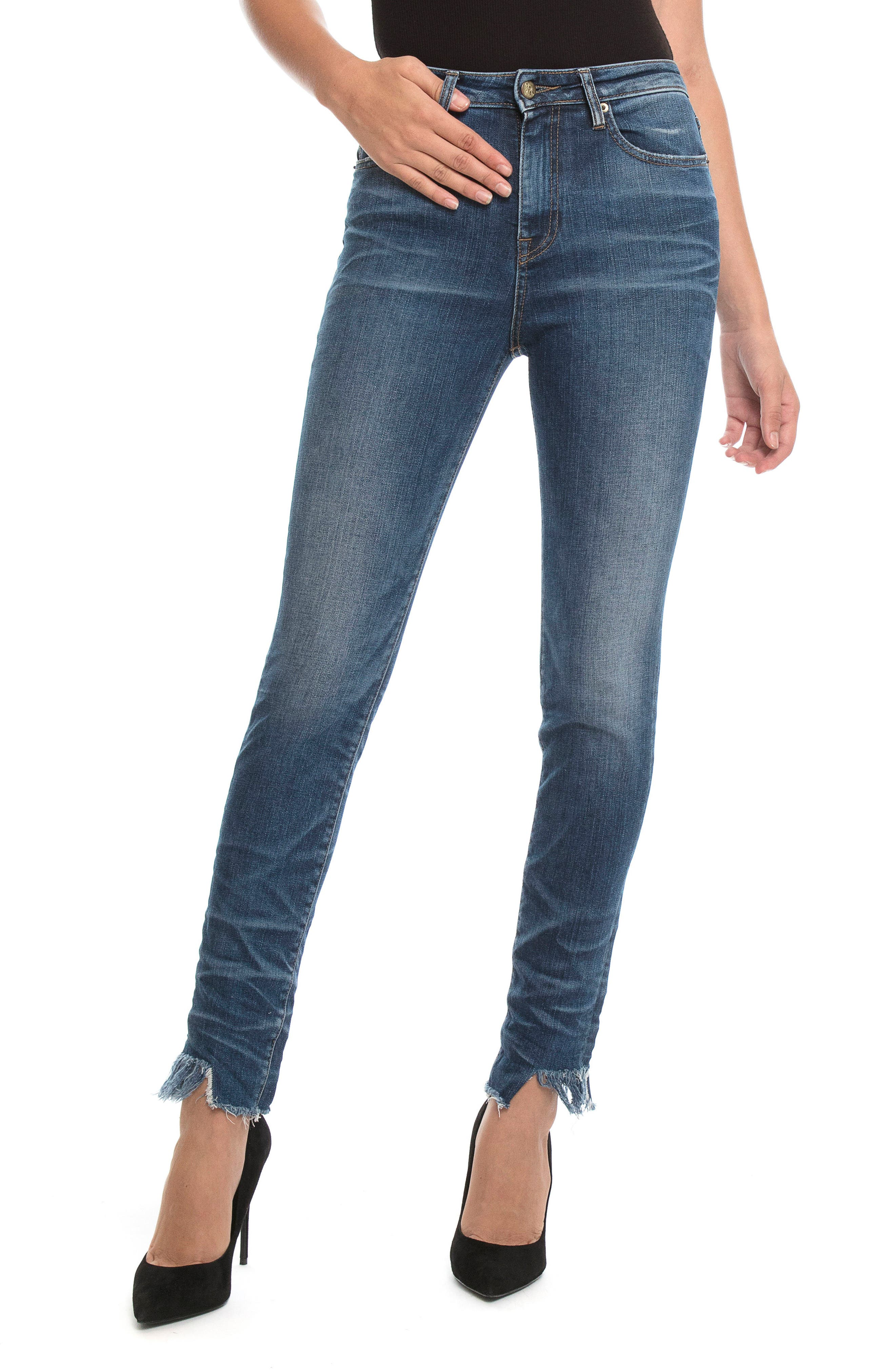 Alternate Image 1 Selected - PRPS Camaro Ankle Skinny Jeans (Vintage)