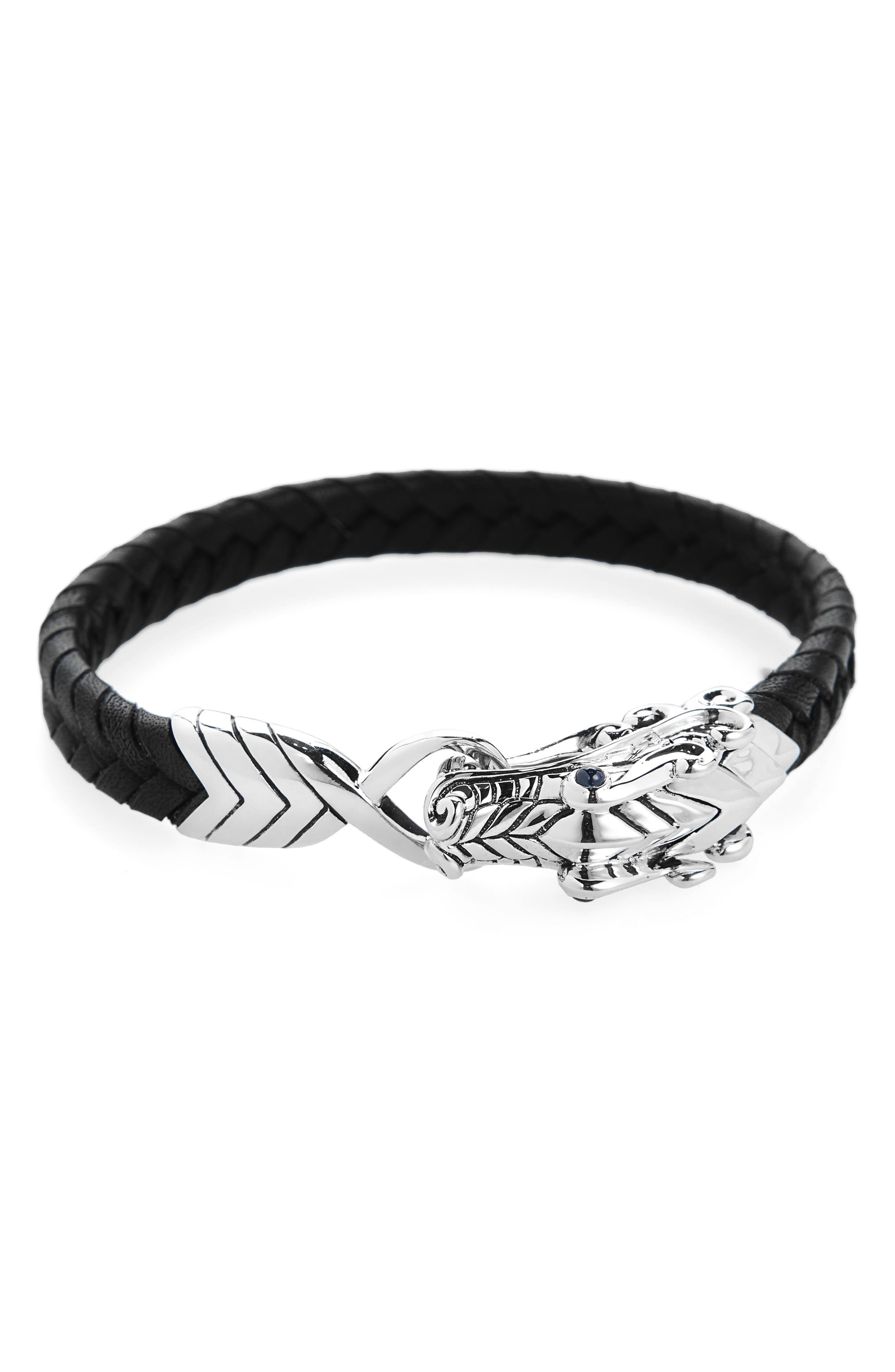 Legends Naga Bracelet,                             Main thumbnail 1, color,                             Black