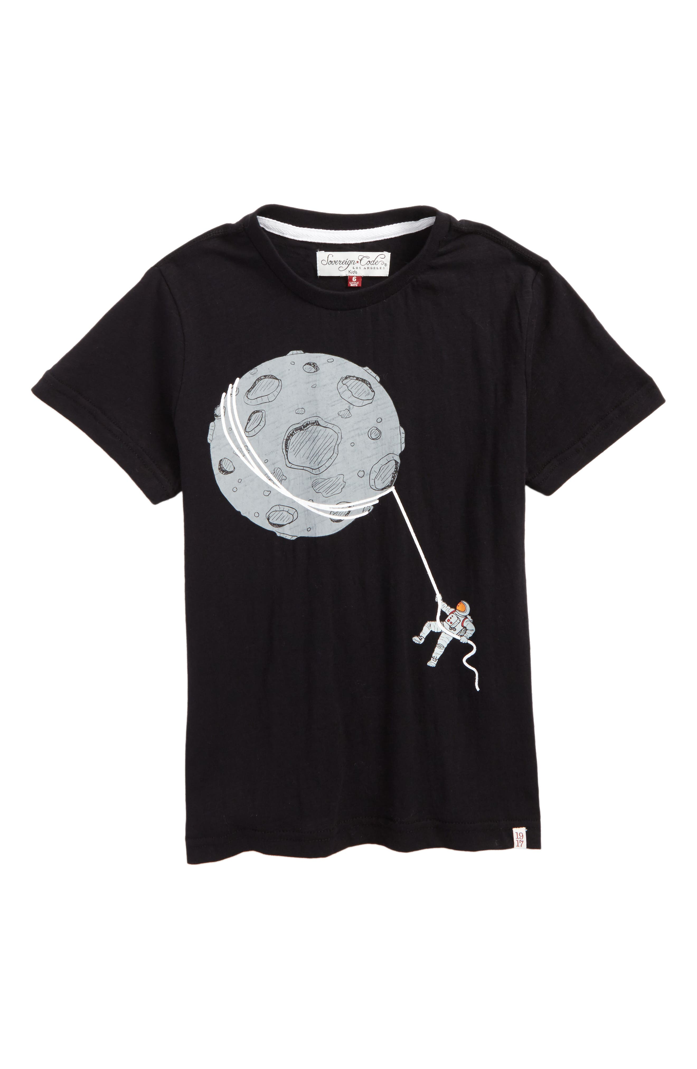 Sovereign Code Moon Graphic T-Shirt (Toddler Boys & Little Boys)