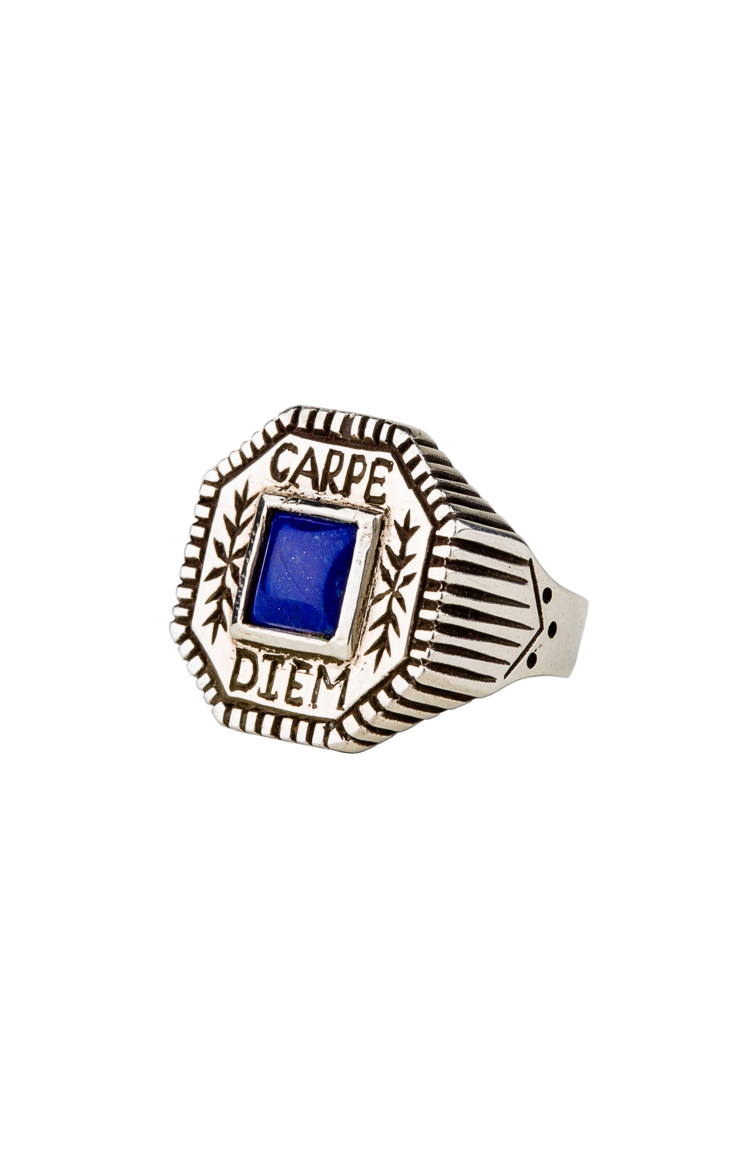 Carpe Diem Ring,                         Main,                         color, Blue