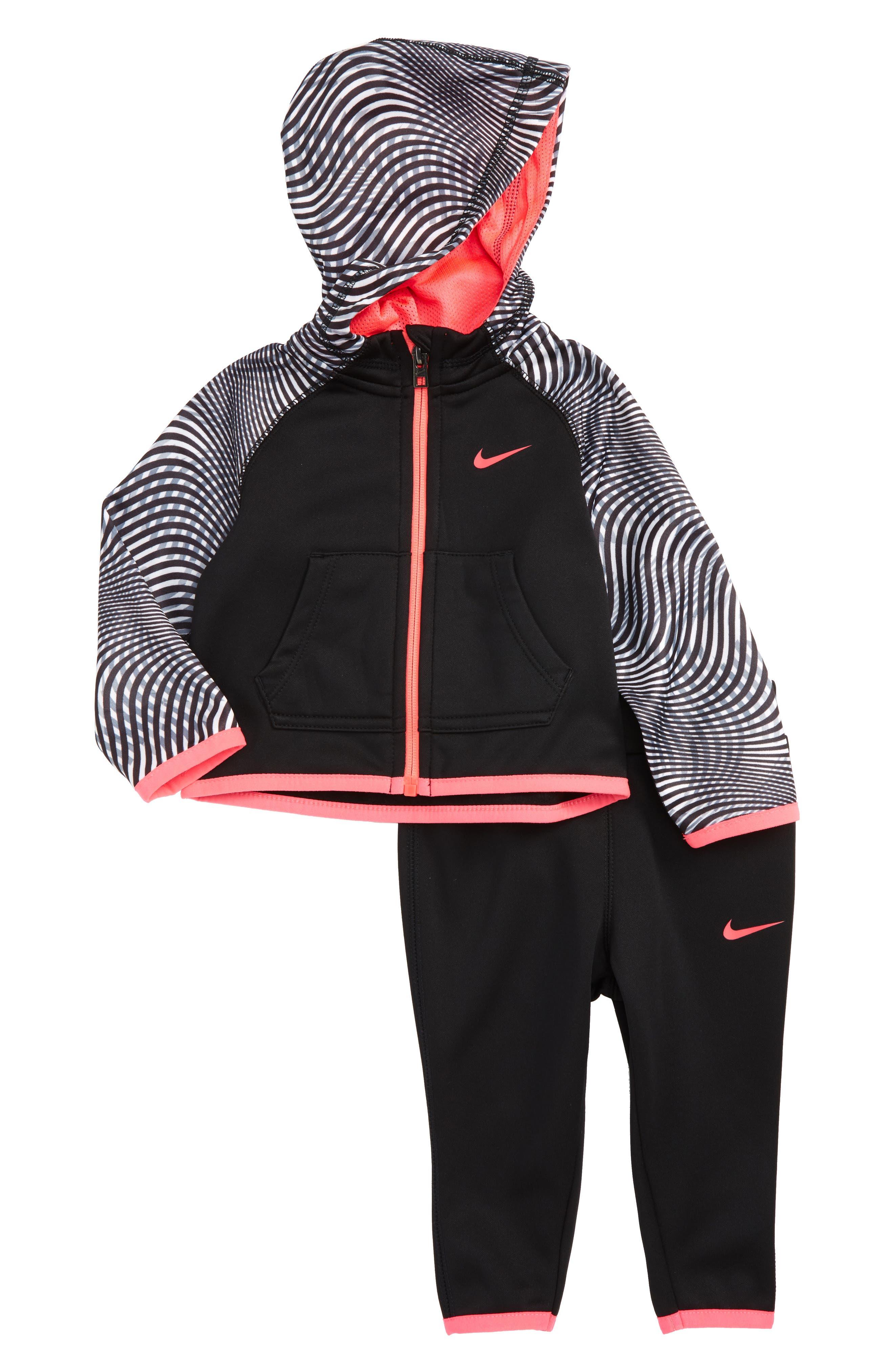 Nike Hoodie & Pants Set (Baby Girls)