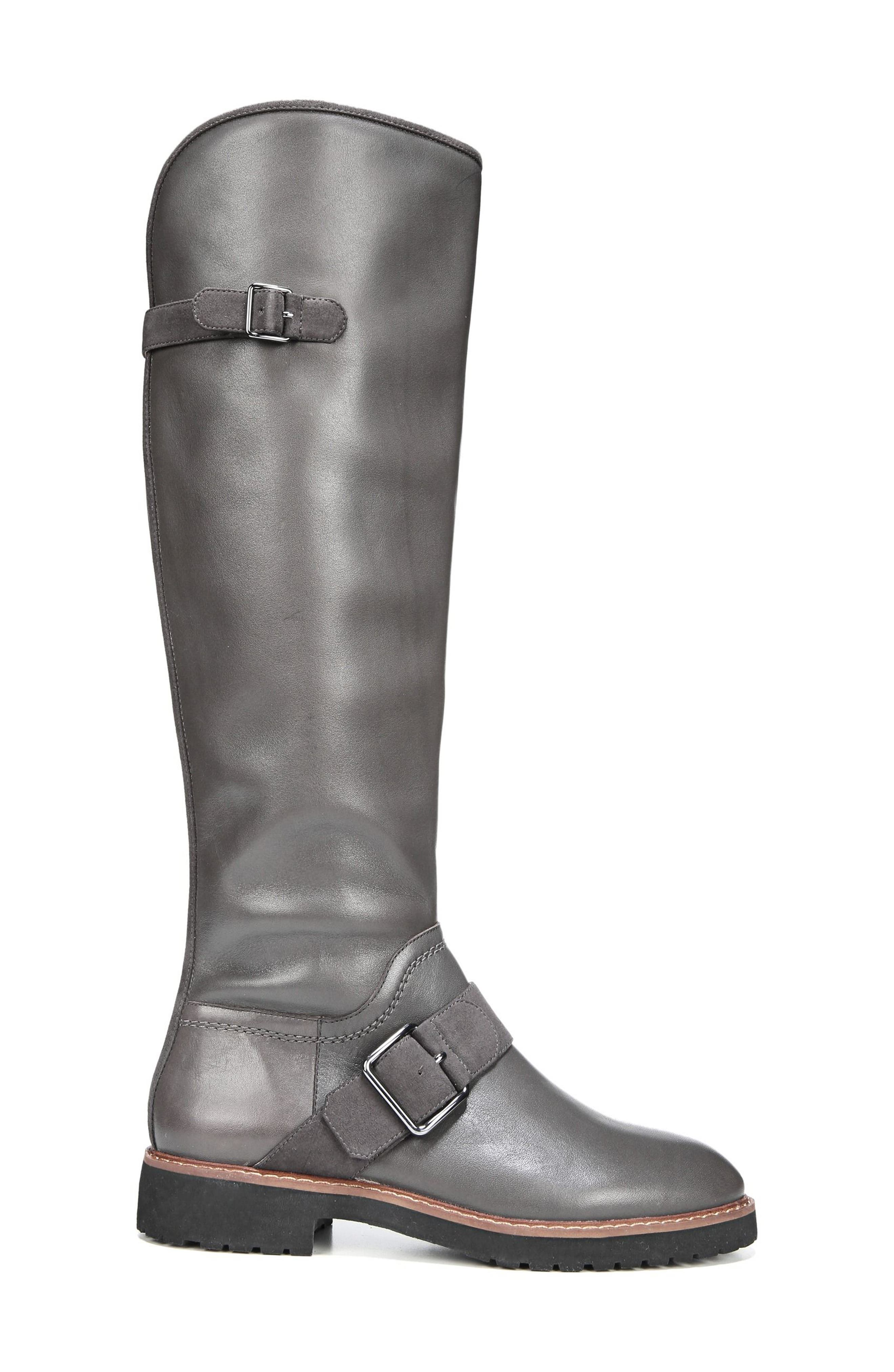 Cutler Riding Boot,                             Alternate thumbnail 3, color,                             Peat Leather