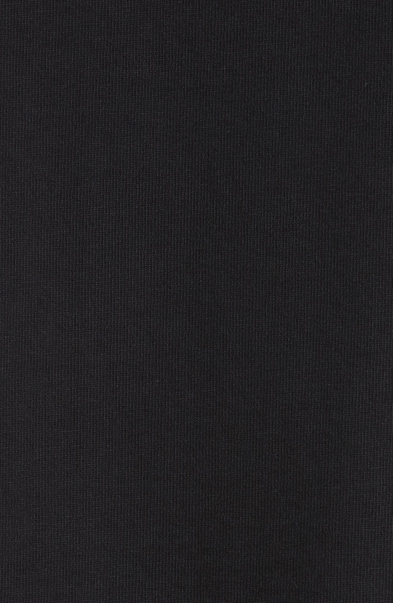 Landscape Long Sleeve T-Shirt,                             Alternate thumbnail 5, color,                             Black
