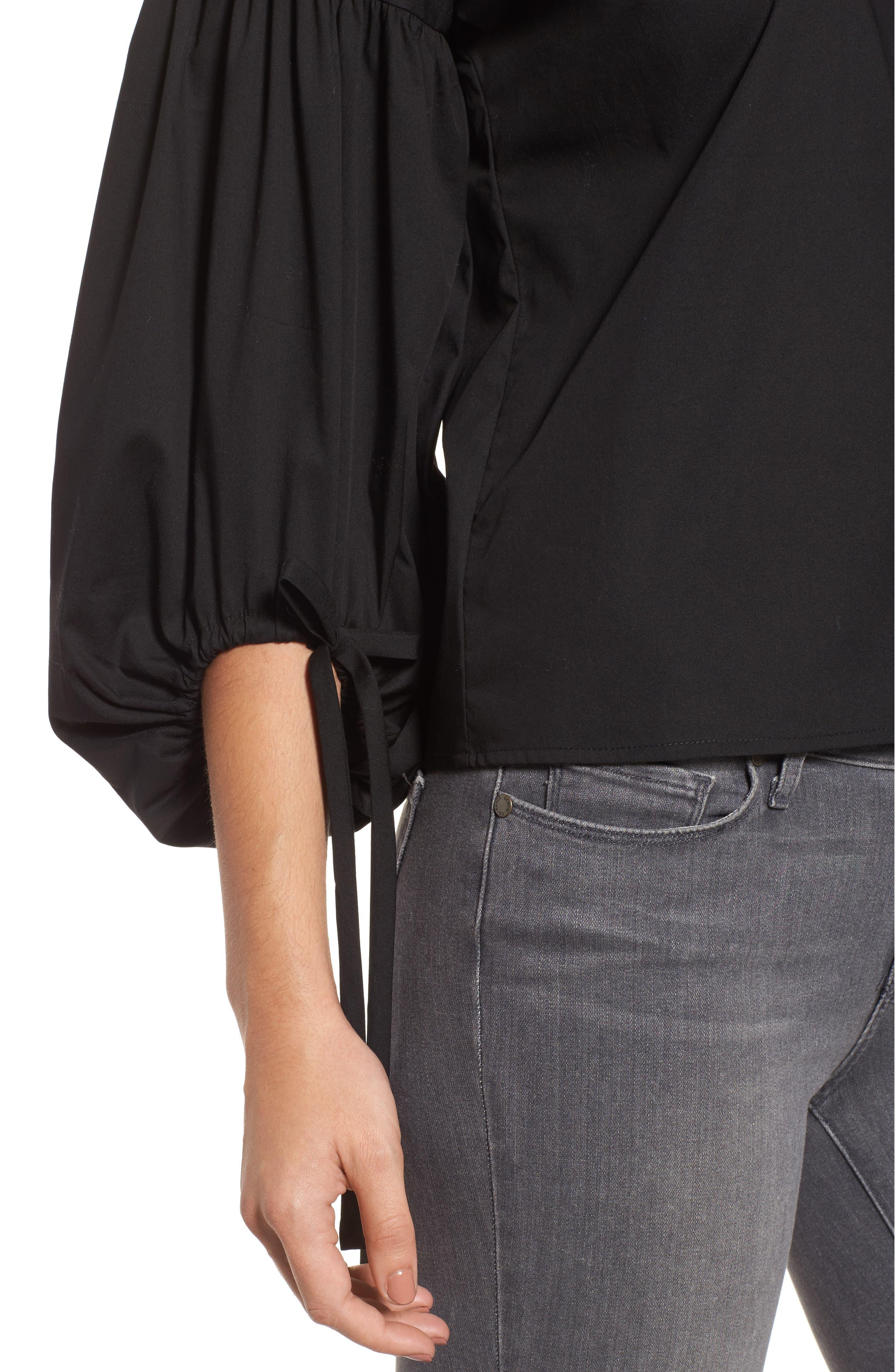 Alternate Image 4  - Halogen® Balloon Sleeve Top