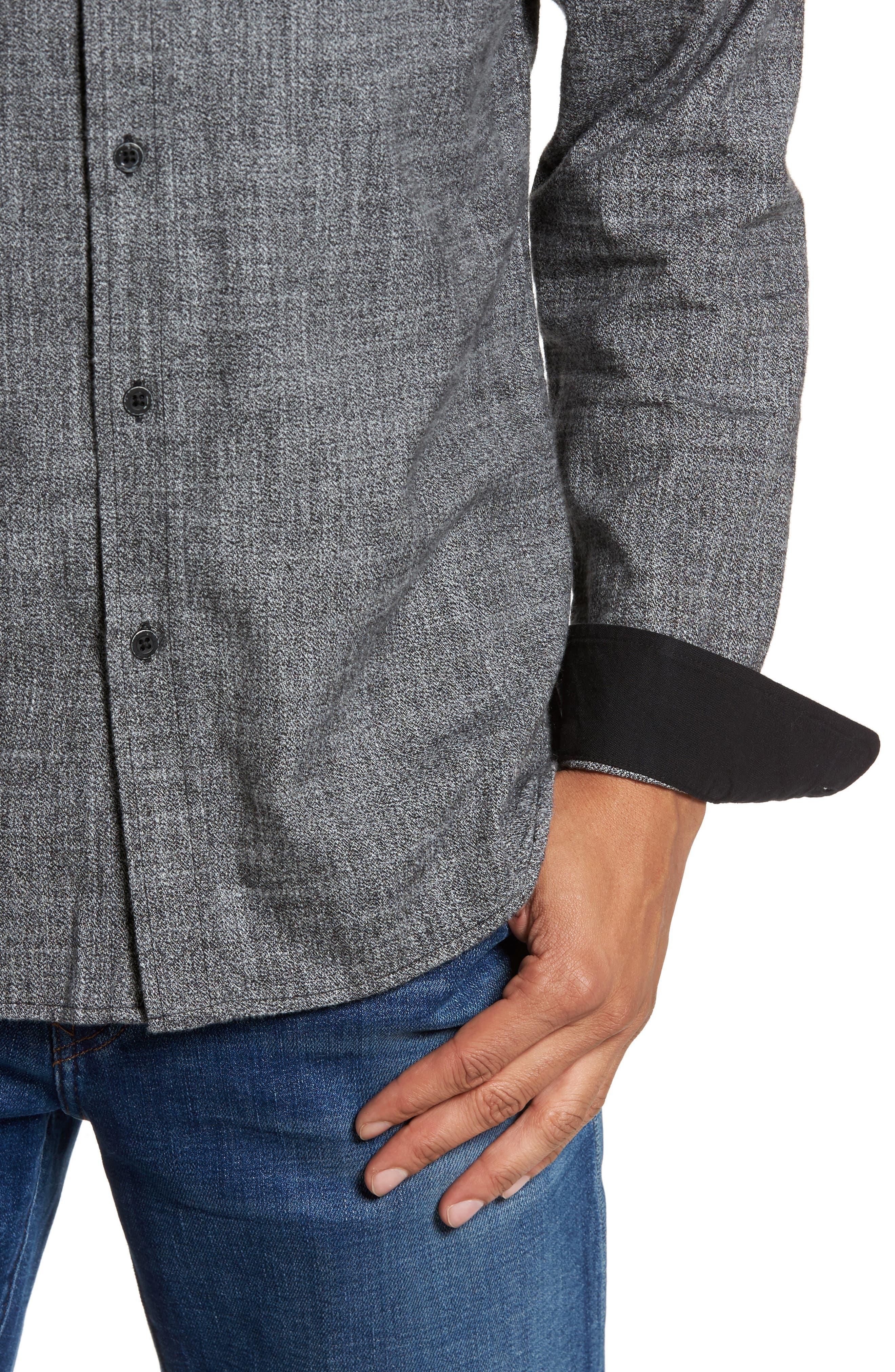 Alternate Image 4  - AG Colton Slim Fit Sport Shirt