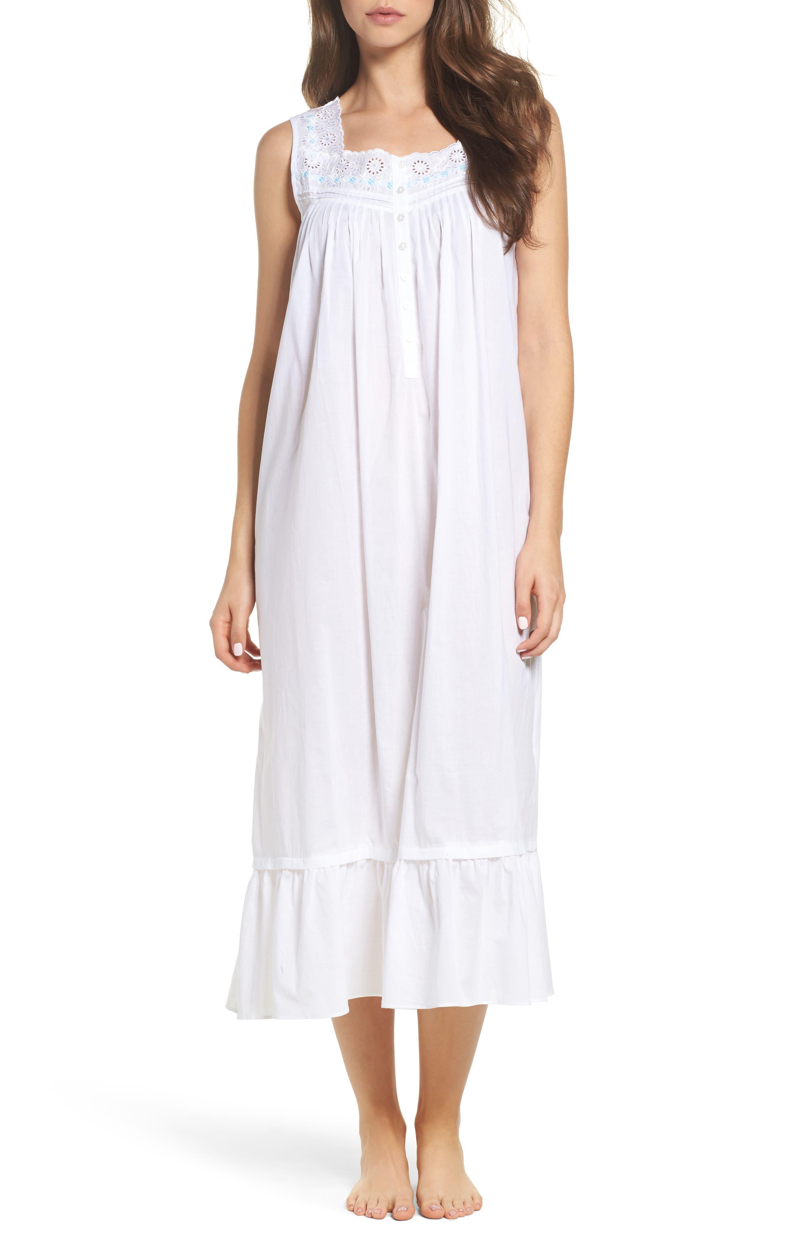 Ballet Nightgown,                             Main thumbnail 1, color,                             White