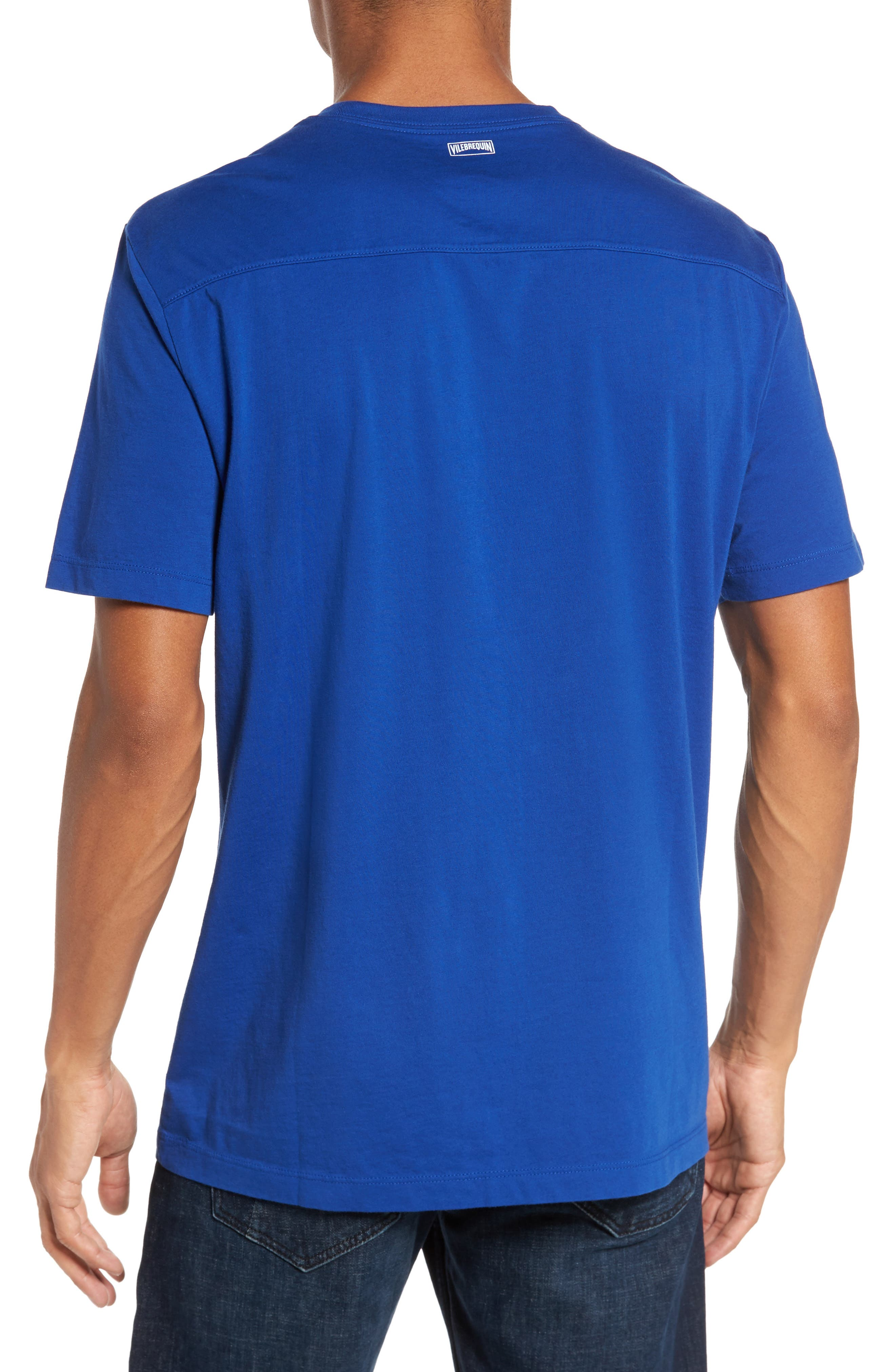Alternate Image 2  - Vilebrequin Classic Fit Pocket T-Shirt