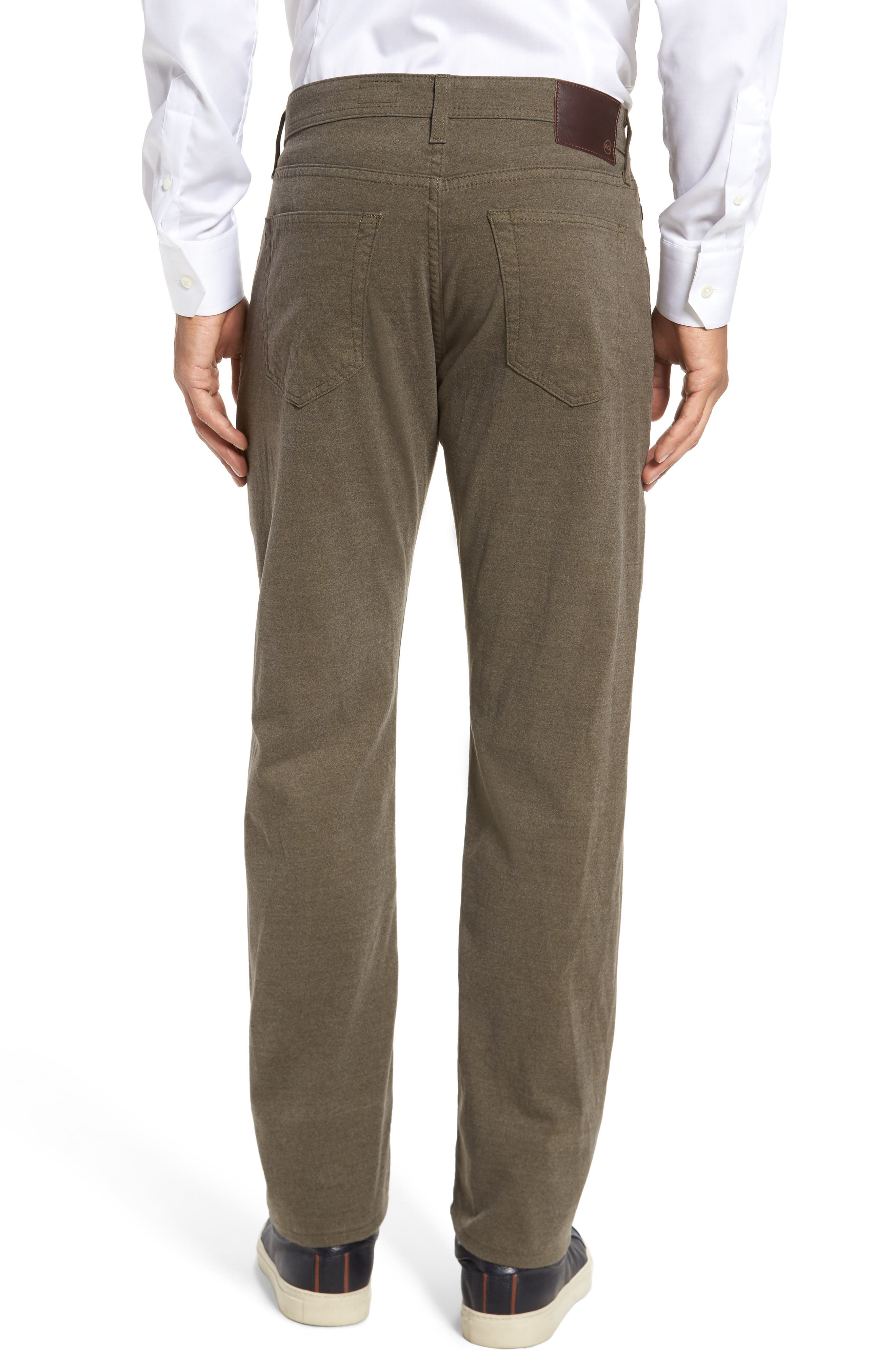 Alternate Image 2  - AG Graduate Tailored Five-Pocket Straight Leg Pants