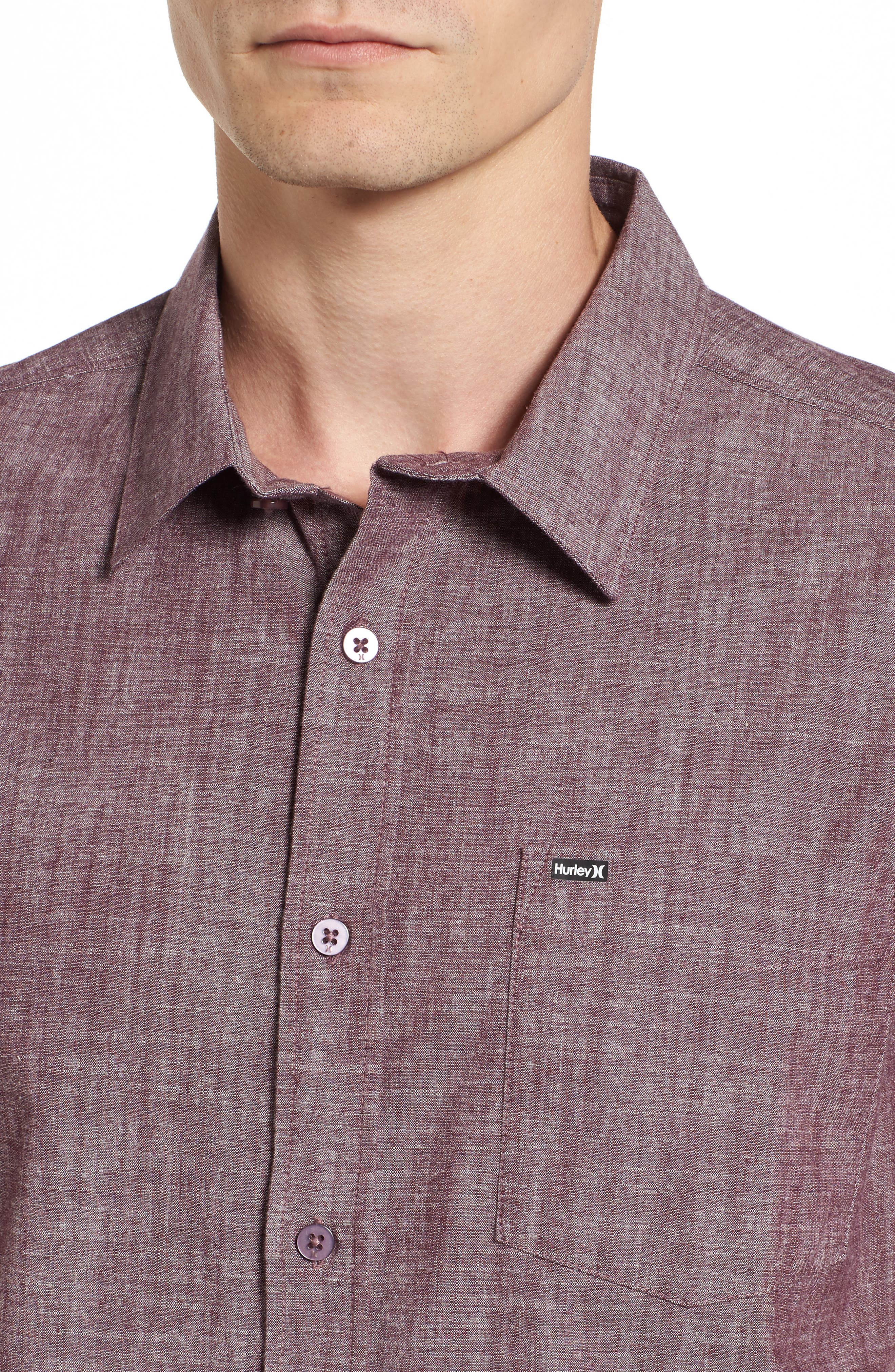 Alternate Image 4  - Hurley O & O 3.0 Woven Shirt