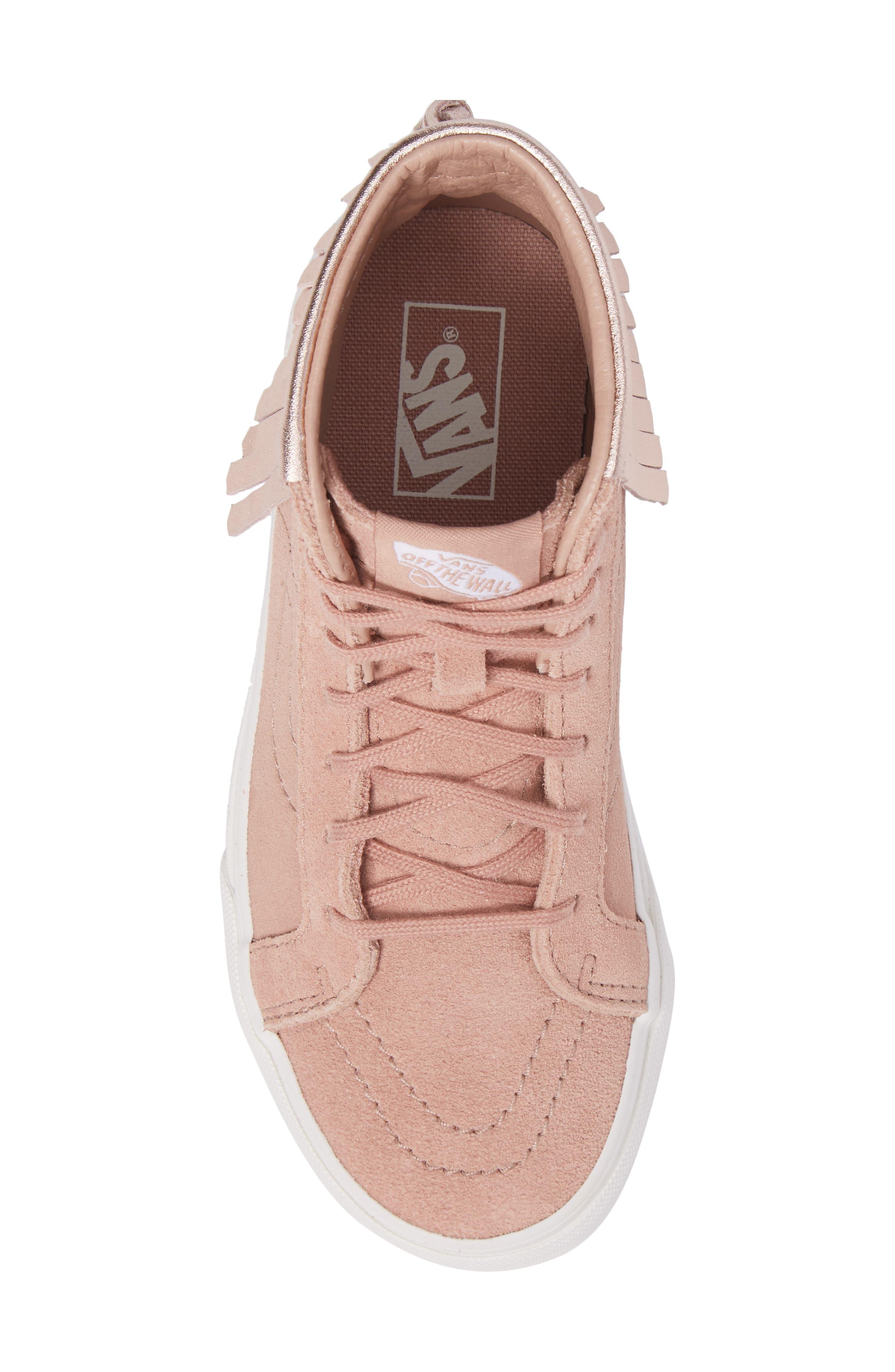 Alternate Image 5  - Vans Sk8-Hi Moc Sneaker (Toddler, Little Kid & Big Kid)