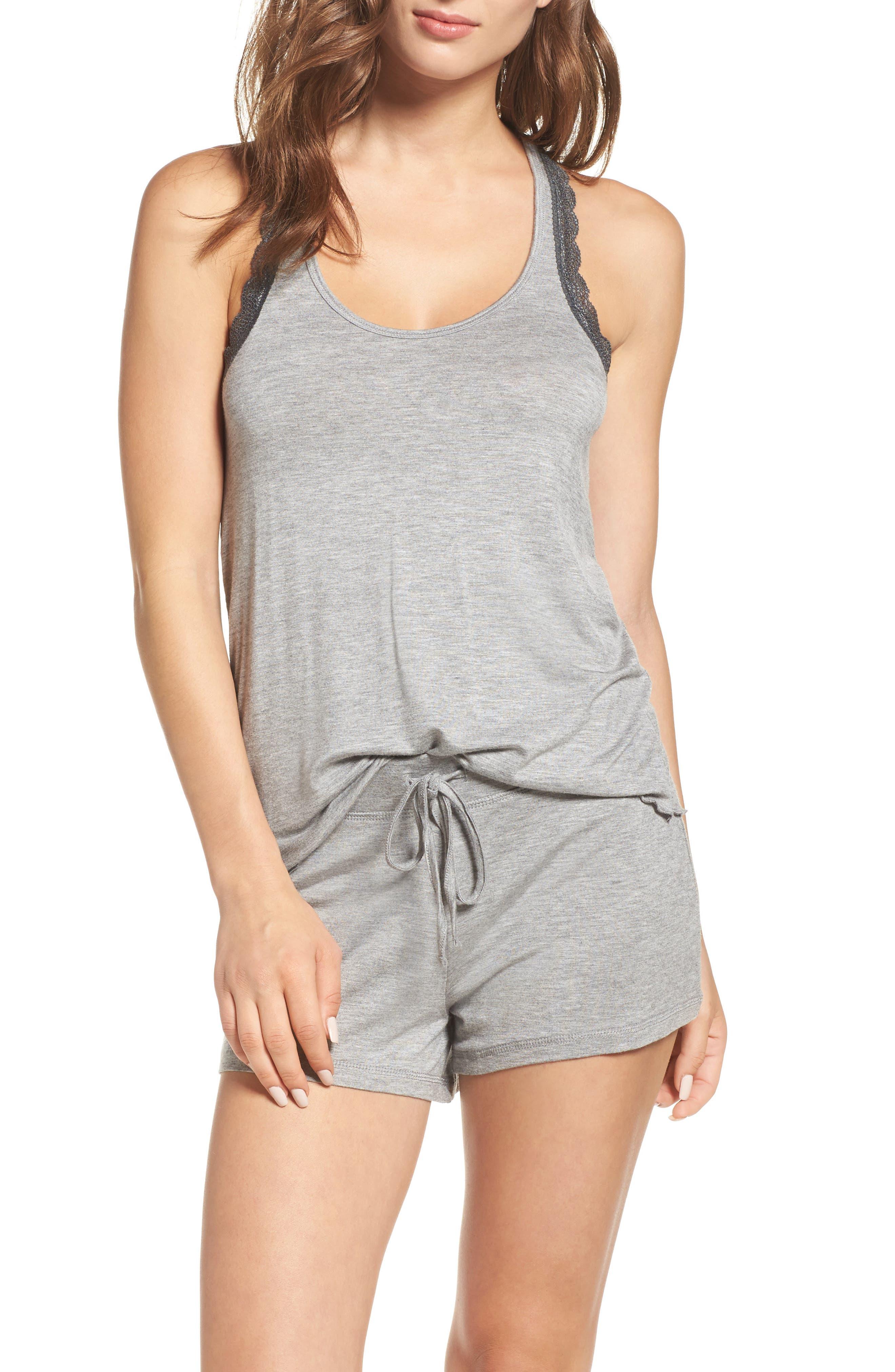 Honeydew Intimates Lace Trim Short Pajamas (2 for $60)