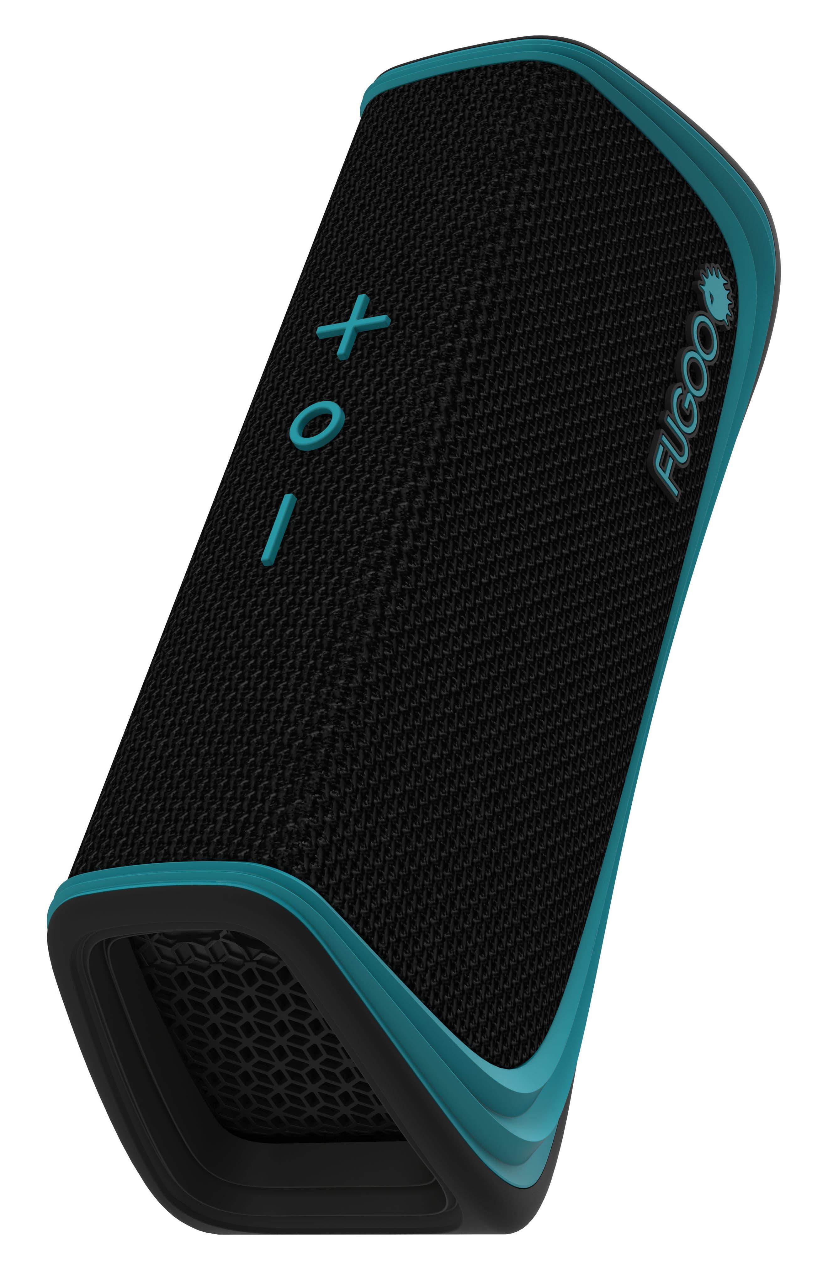 Sport Waterproof Bluetooth Speaker,                             Alternate thumbnail 4, color,                             Black/ Blue