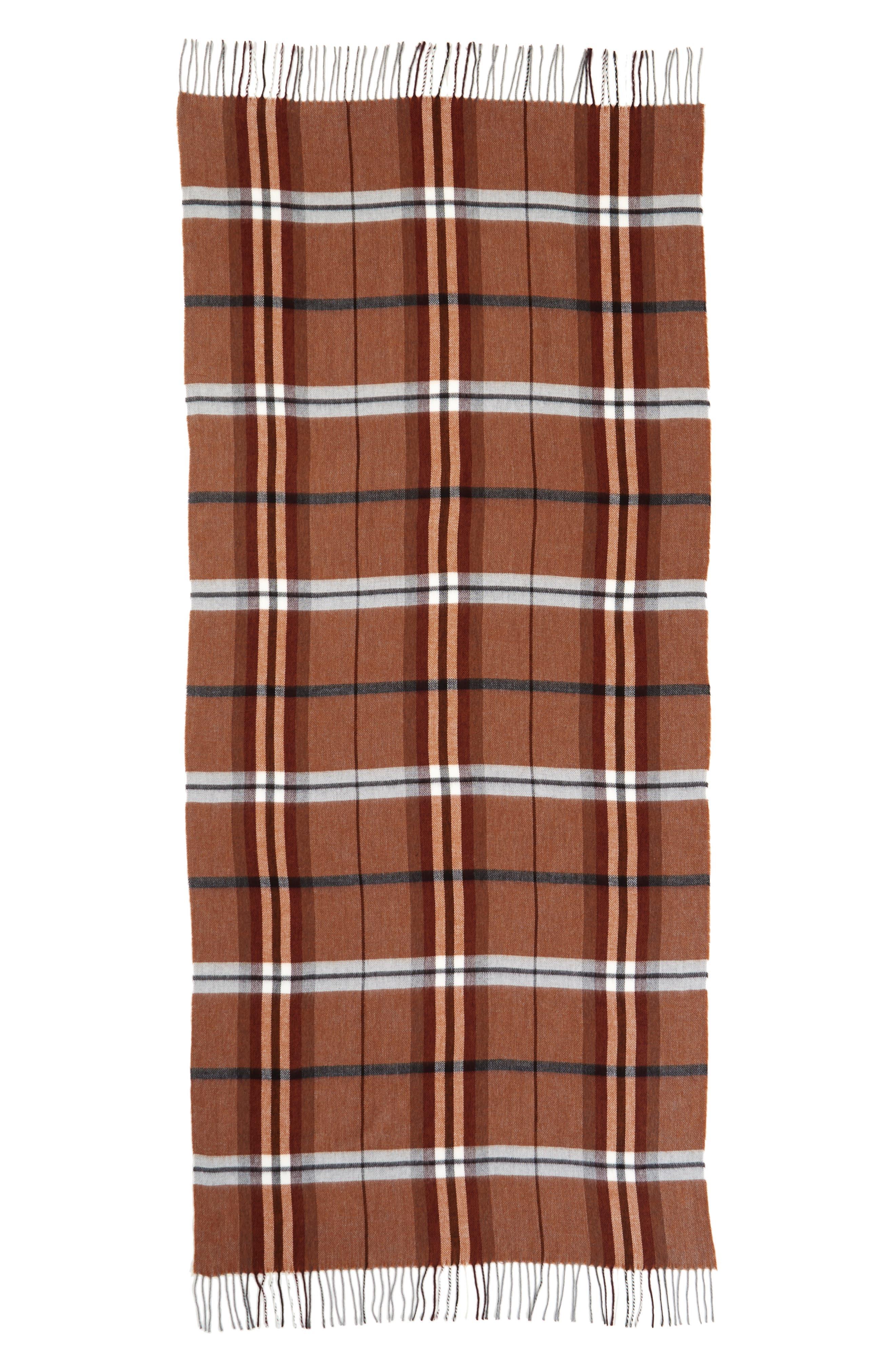Alternate Image 2  - Topman Plaid Blanket Scarf