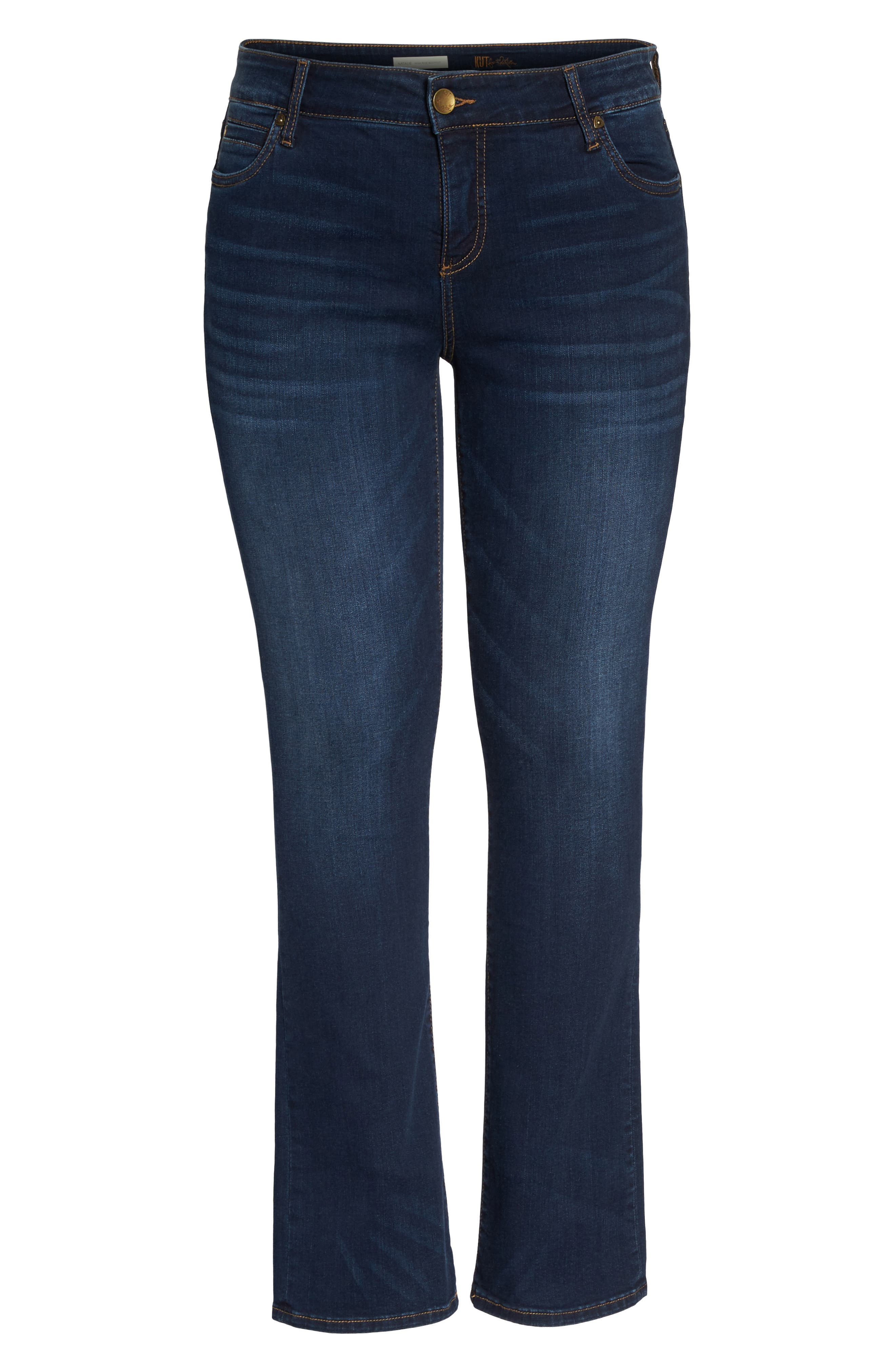 Alternate Image 6  - KUT from the Kloth Natalie High Waist Bootcut Jeans (Closeness) (Plus Size)