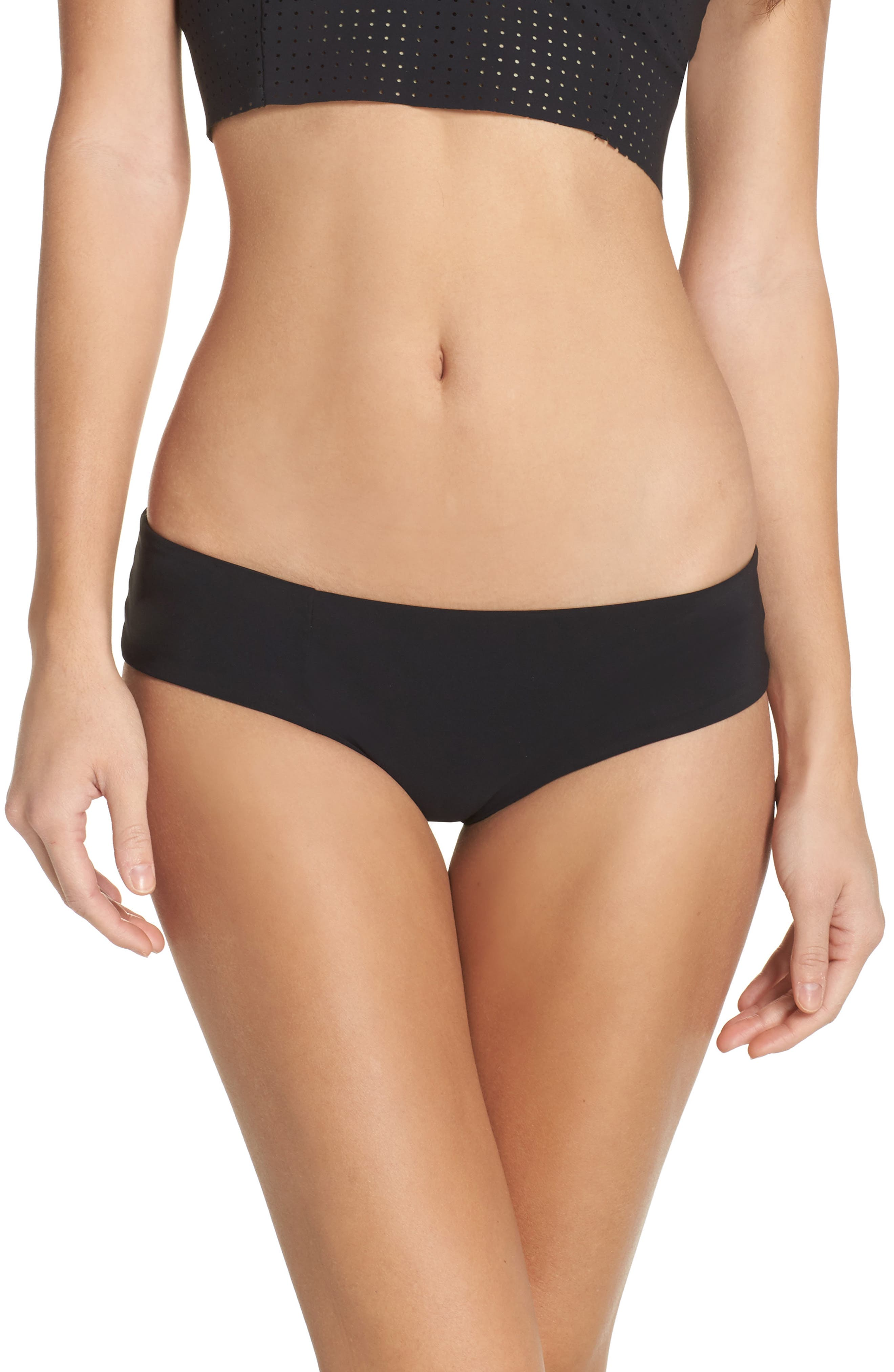 Wallace Bikini Bottoms,                         Main,                         color, Black
