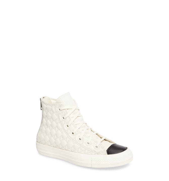 Converse All Star® Quilted High Top Sneaker (Women) | Nordstrom : quilted converse - Adamdwight.com