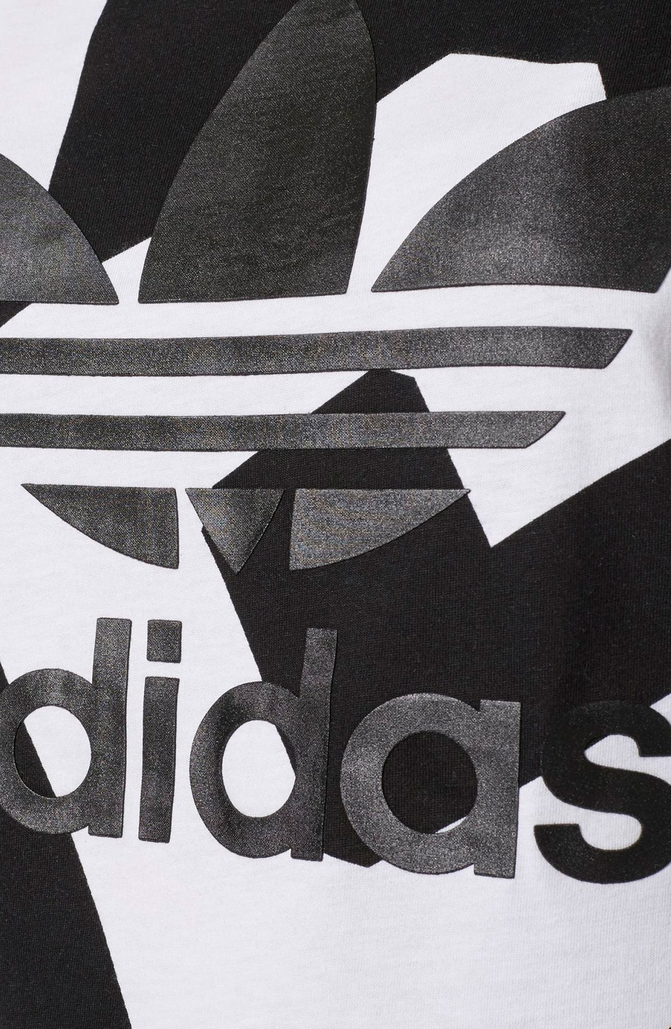 Alternate Image 6  - adidas Bold Ages Boyfriend Tee