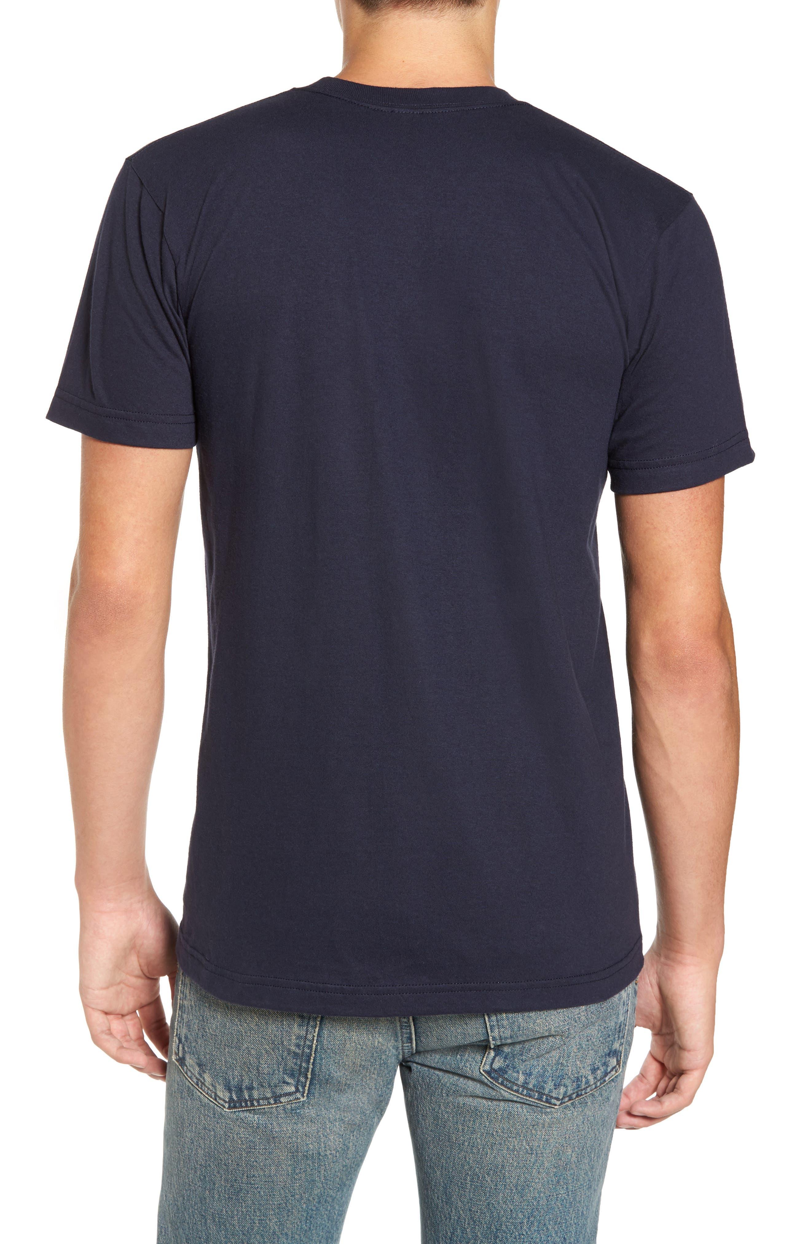 Skyline Arch 3D Graphic T-Shirt,                             Alternate thumbnail 2, color,                             Navy