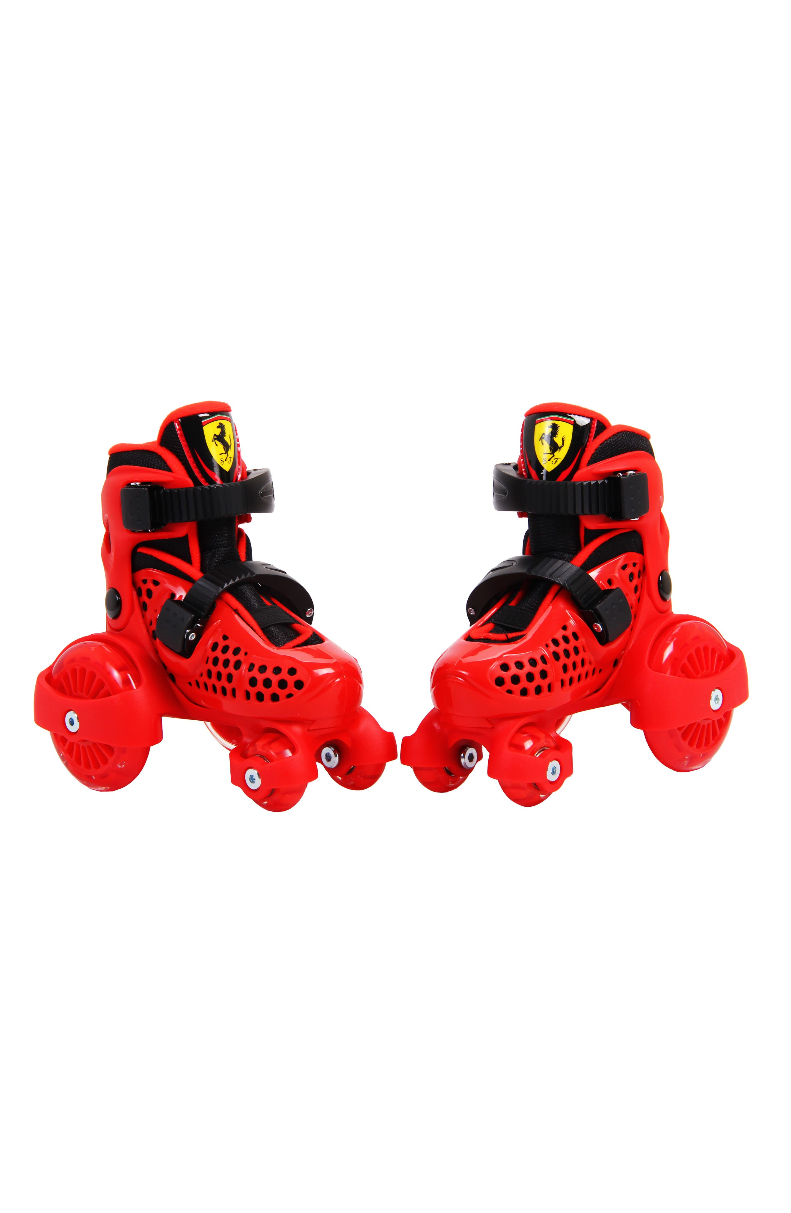 My First Skate Rollerskate & Protective Gear Set,                             Alternate thumbnail 2, color,                             Red